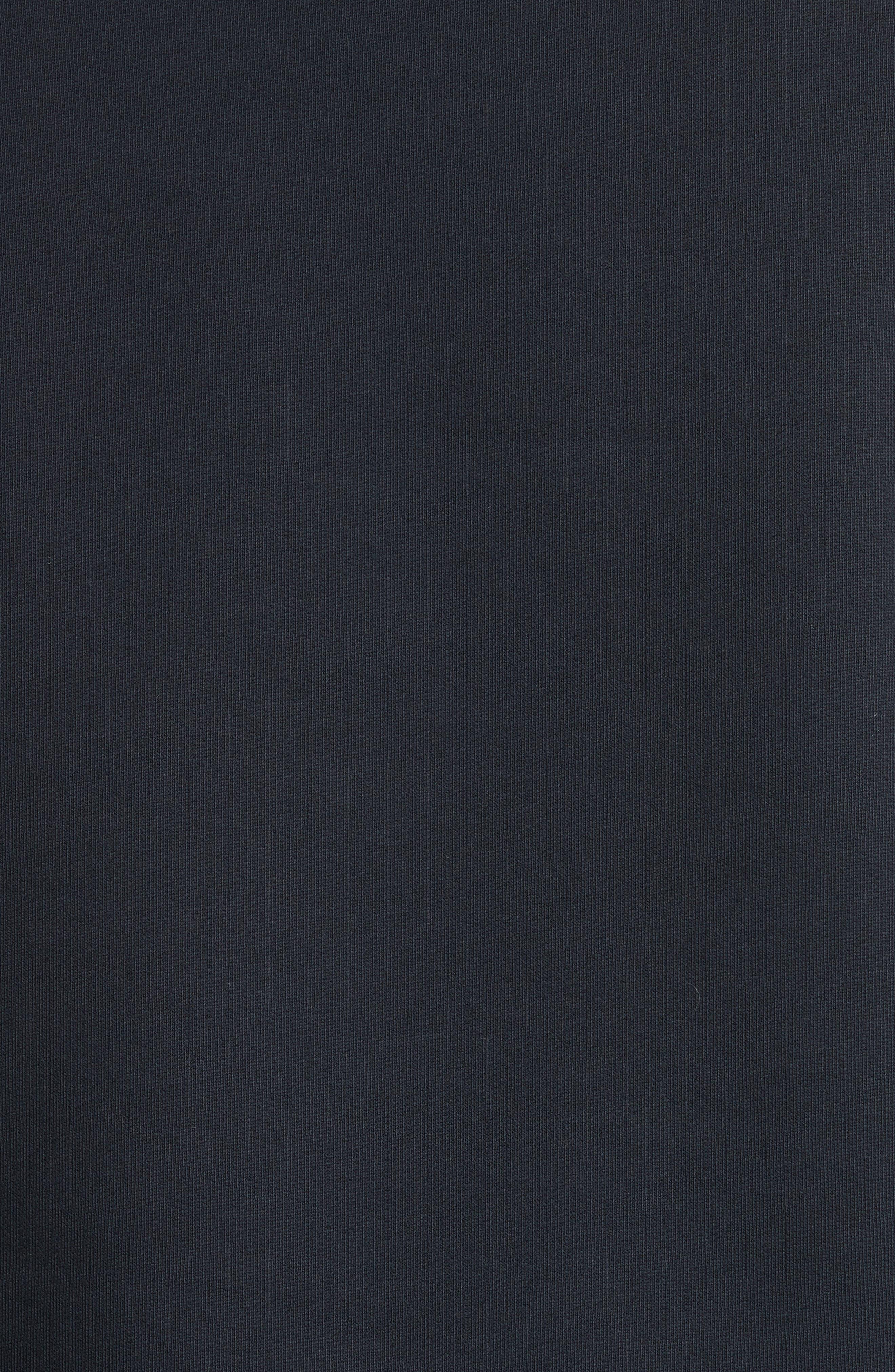 Alternate Image 6  - Burberry Beachen Tartan Panel Jersey Sweatshirt