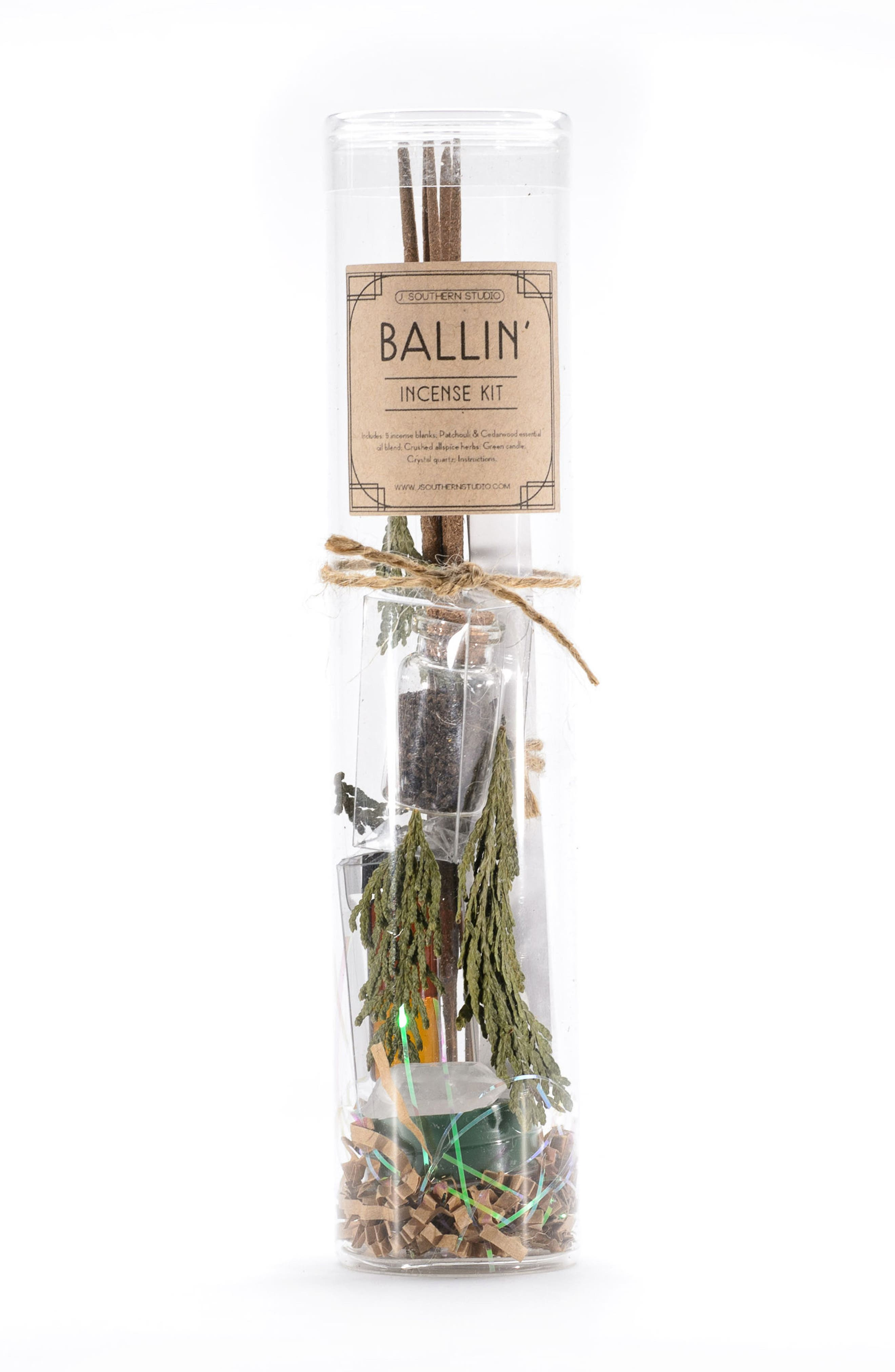 Ballin Incense Making Ritual Kit,                         Main,                         color, None