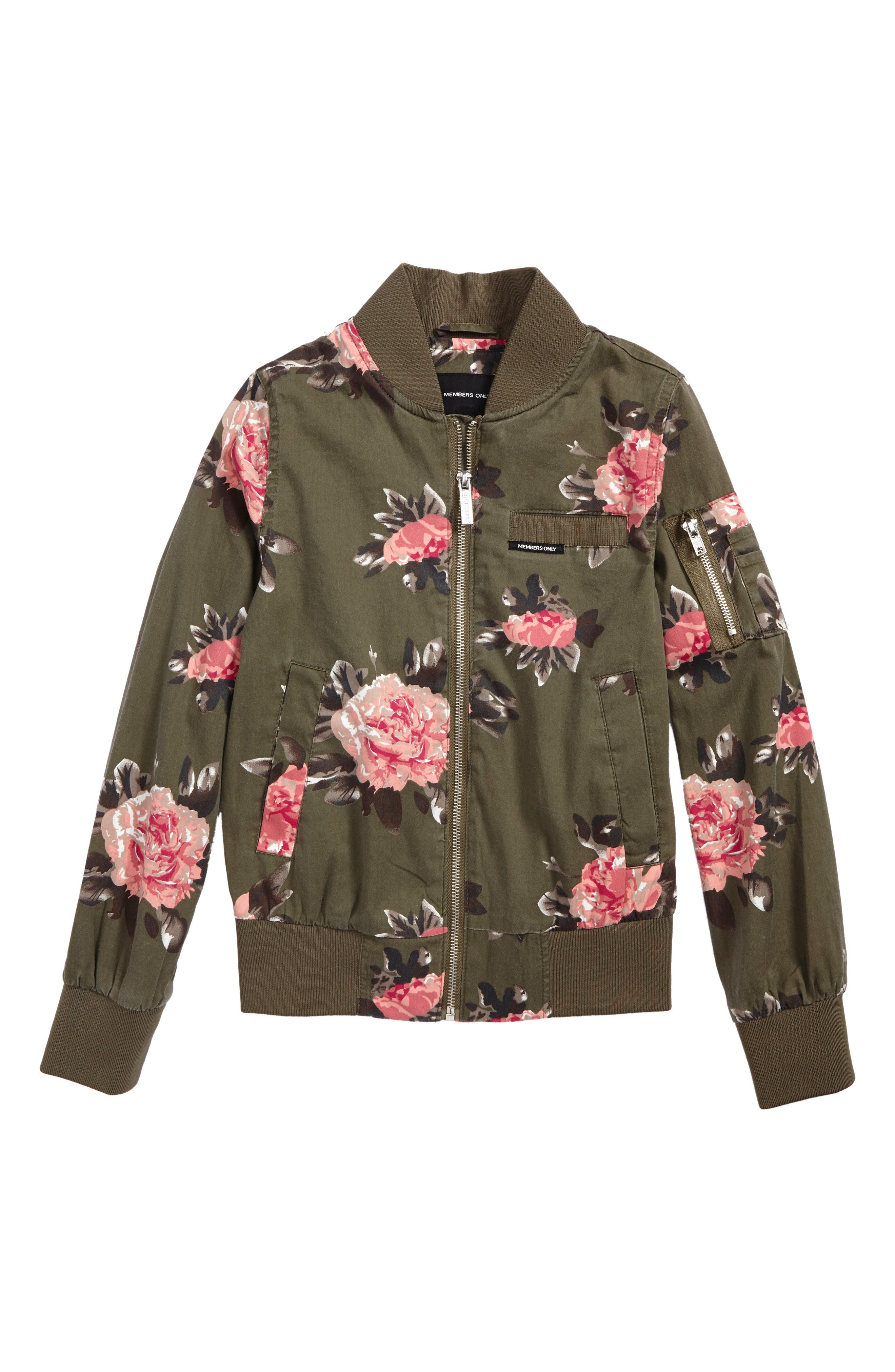 Members Only Bomber Jacket (Big Girls)