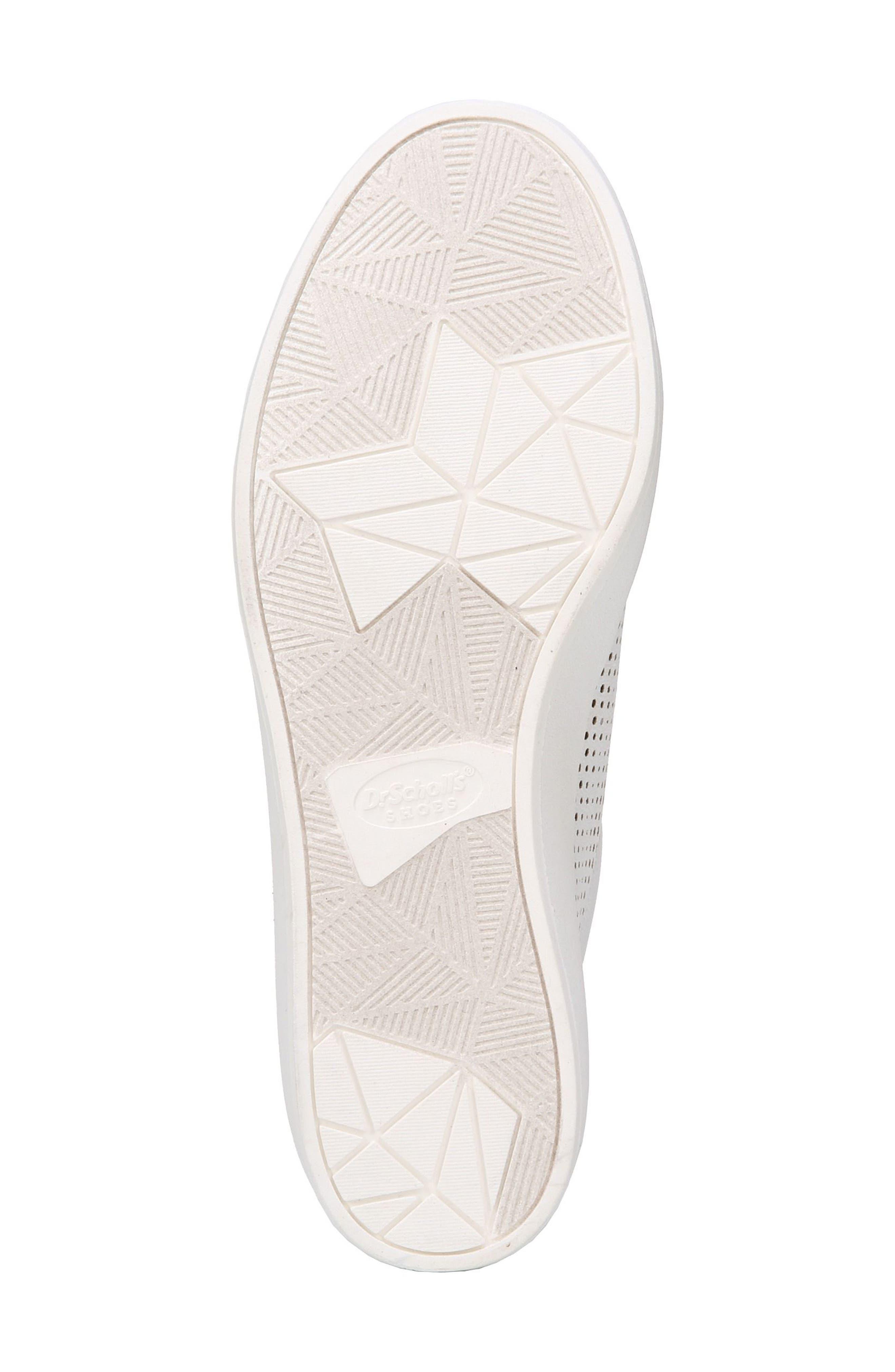 Kinney Platform Sneaker,                             Alternate thumbnail 6, color,                             White