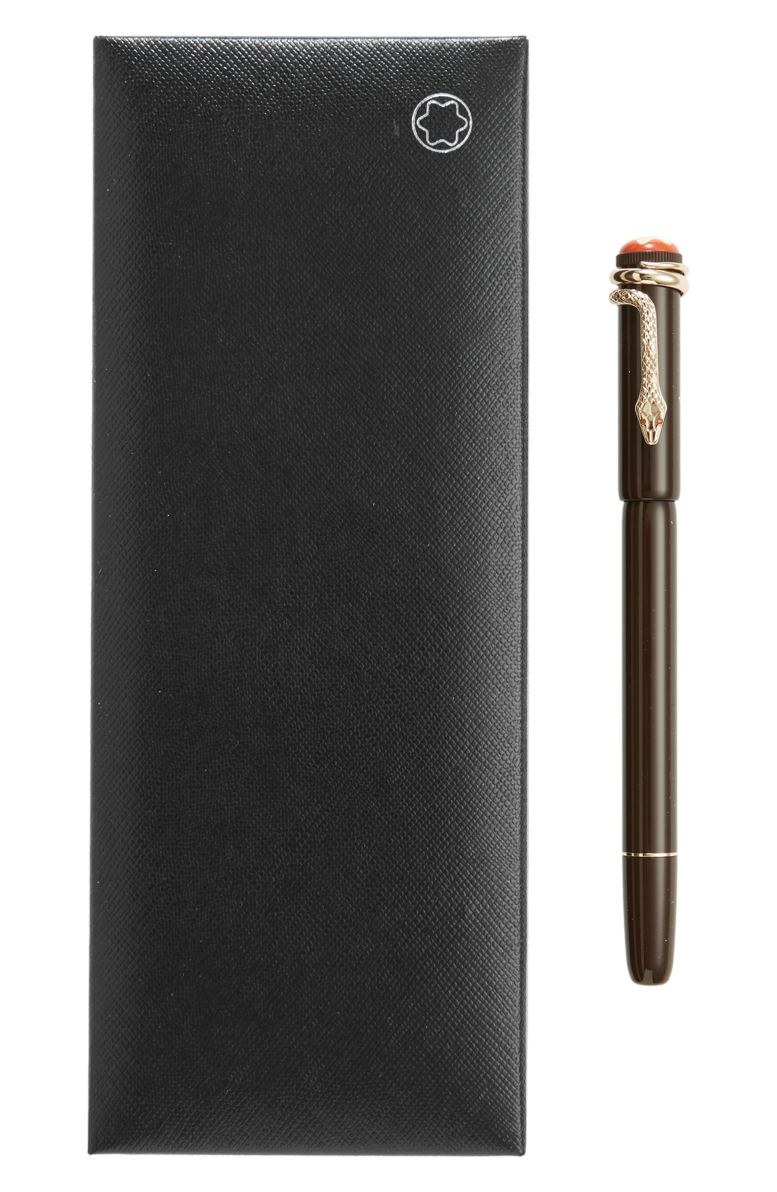 Alternate Image 2  - Montblanc Heritage Collection Rouge et Noir Special Edition Rollerball Pen