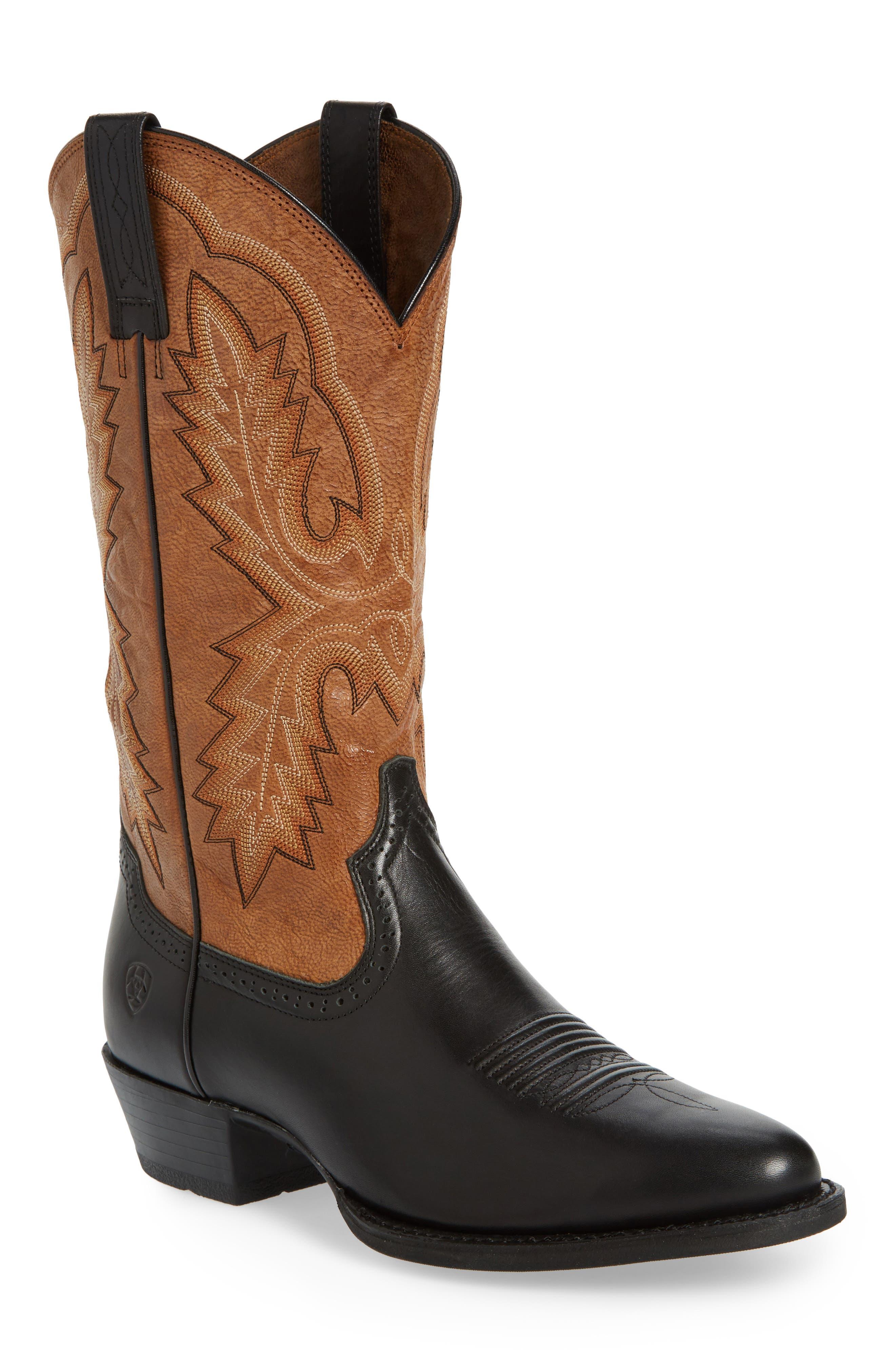 Alternate Image 1 Selected - Ariat Heritage Calhoun Western R-Toe Boot (Men)