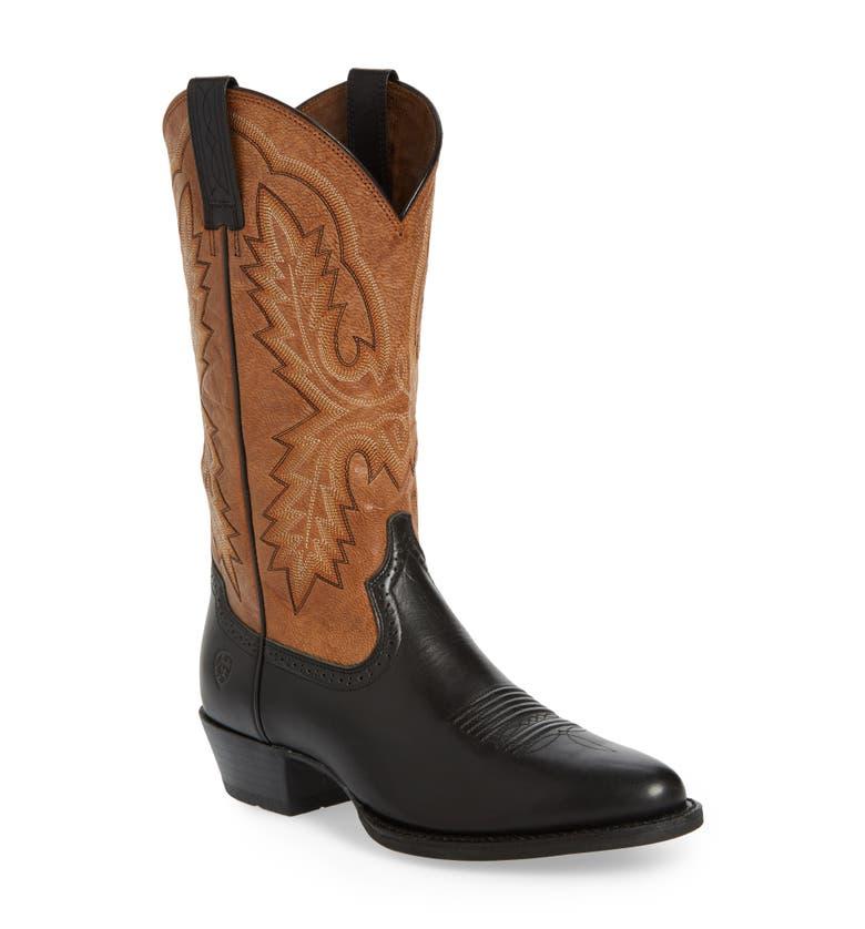 Heritage Calhoun Western R-Toe Boot