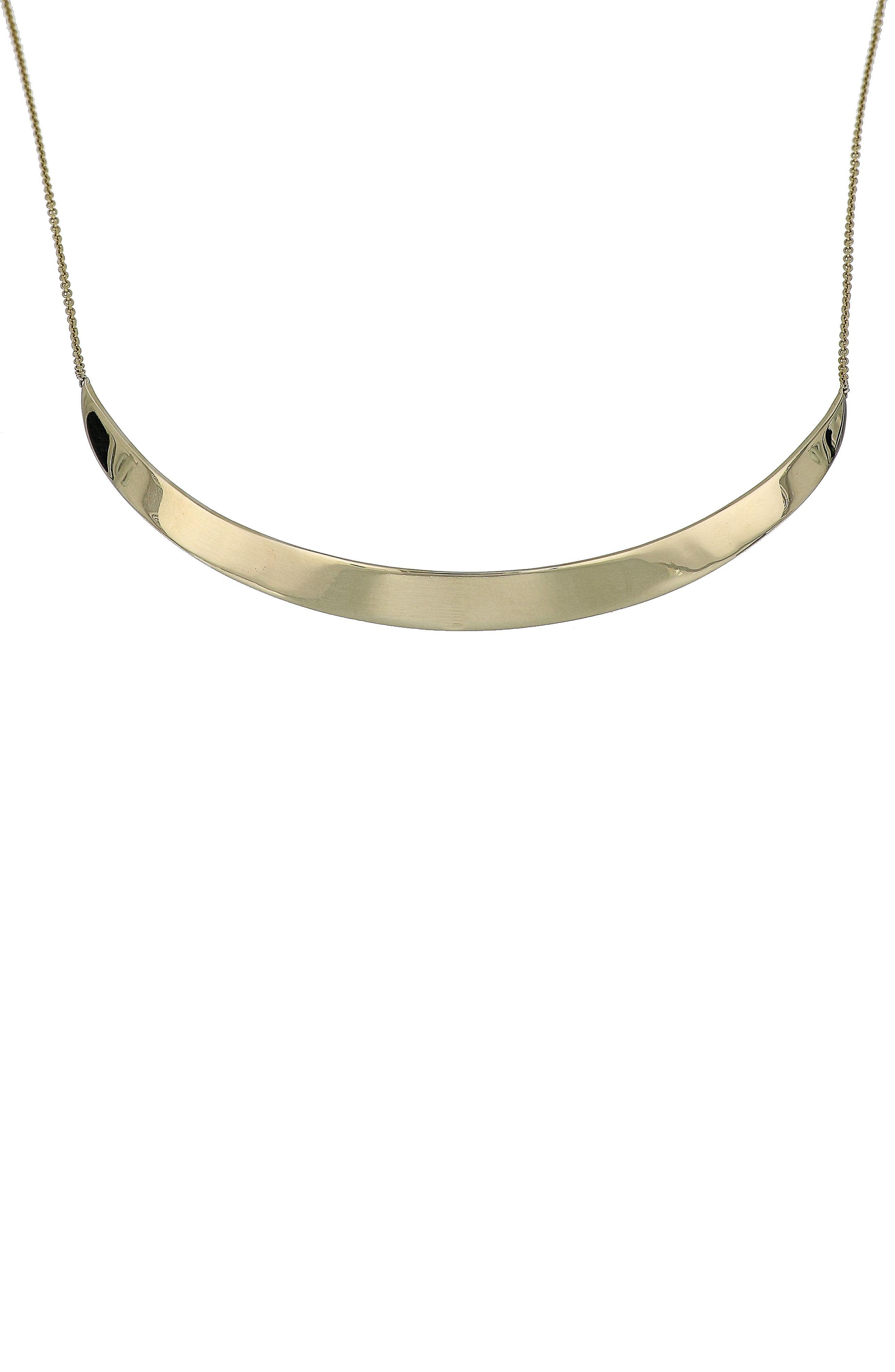 Bar Necklace,                             Main thumbnail 1, color,                             Yellow Gold