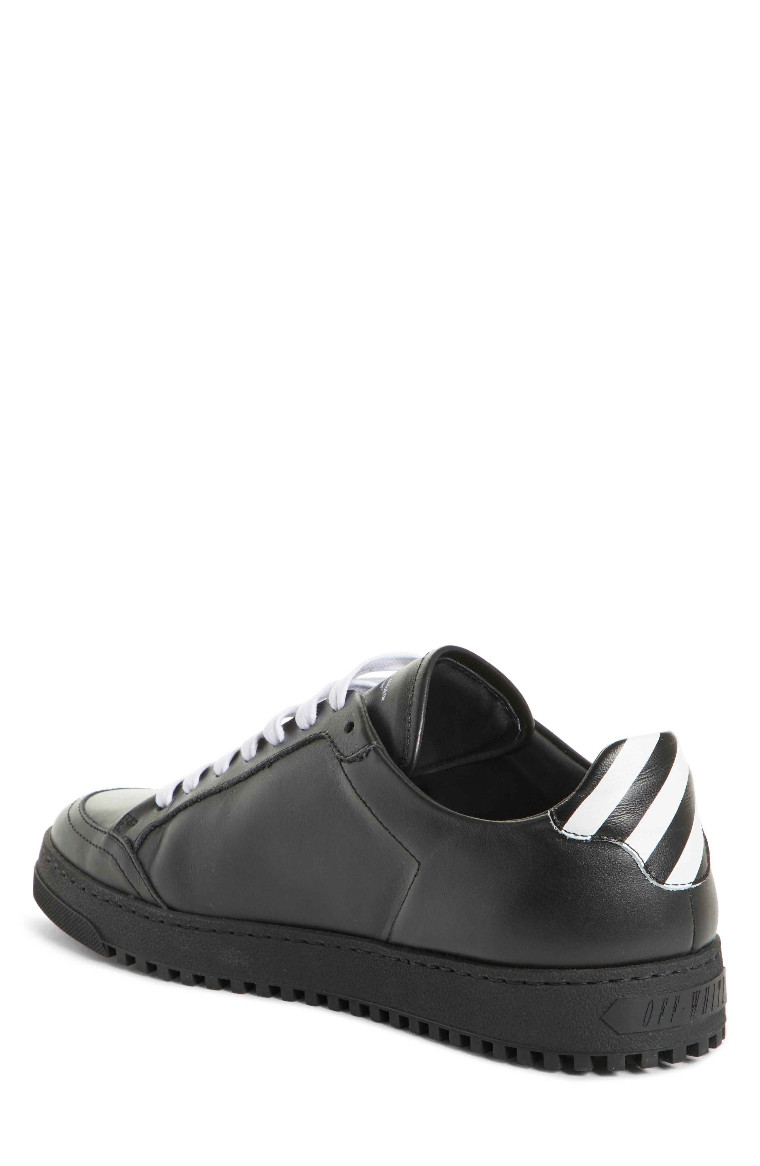 Arrow Sneaker,                             Alternate thumbnail 2, color,                             Black White