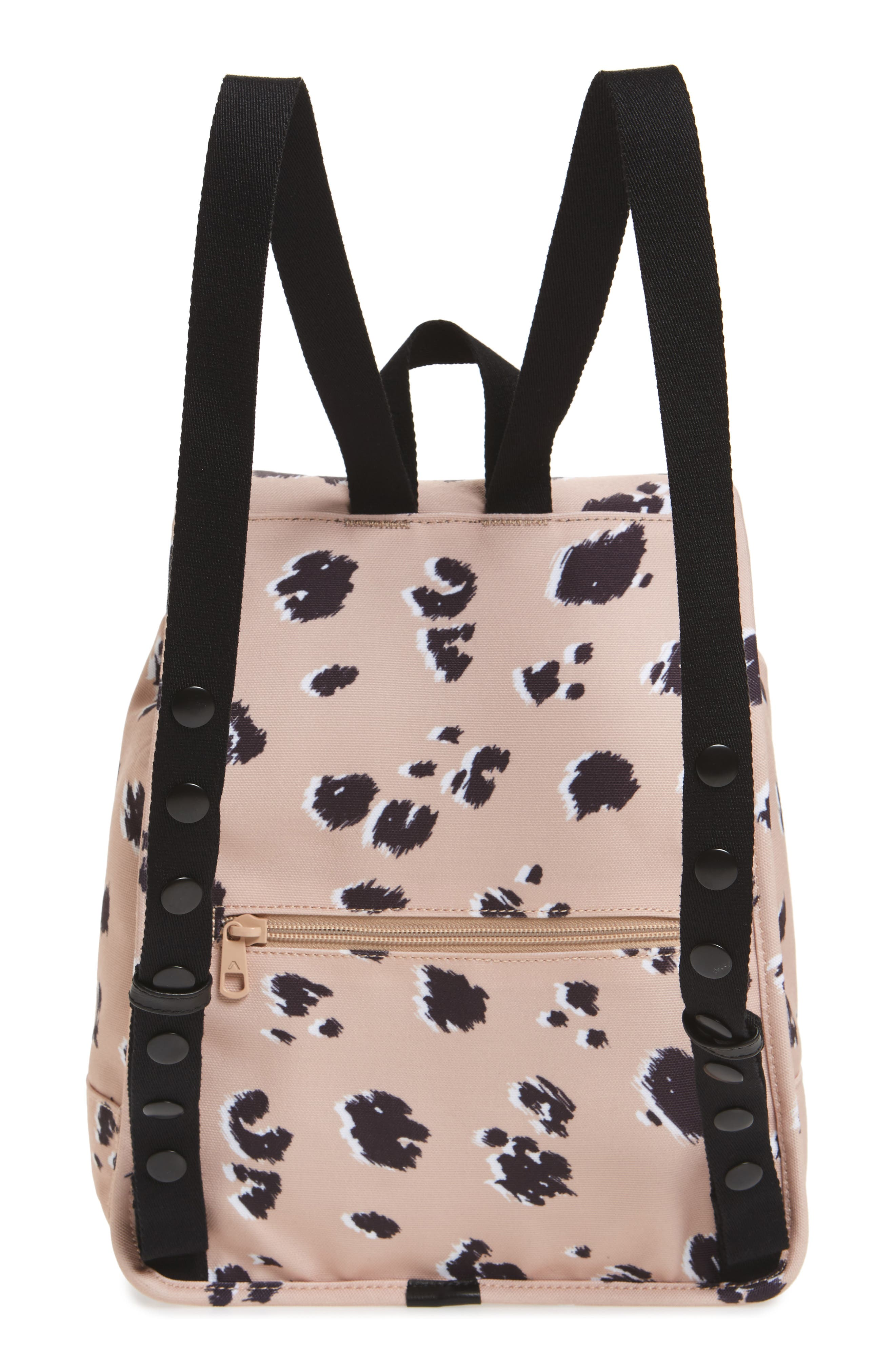 Wingate Hattie Canvas Backpack,                             Alternate thumbnail 3, color,                             Natural Animal