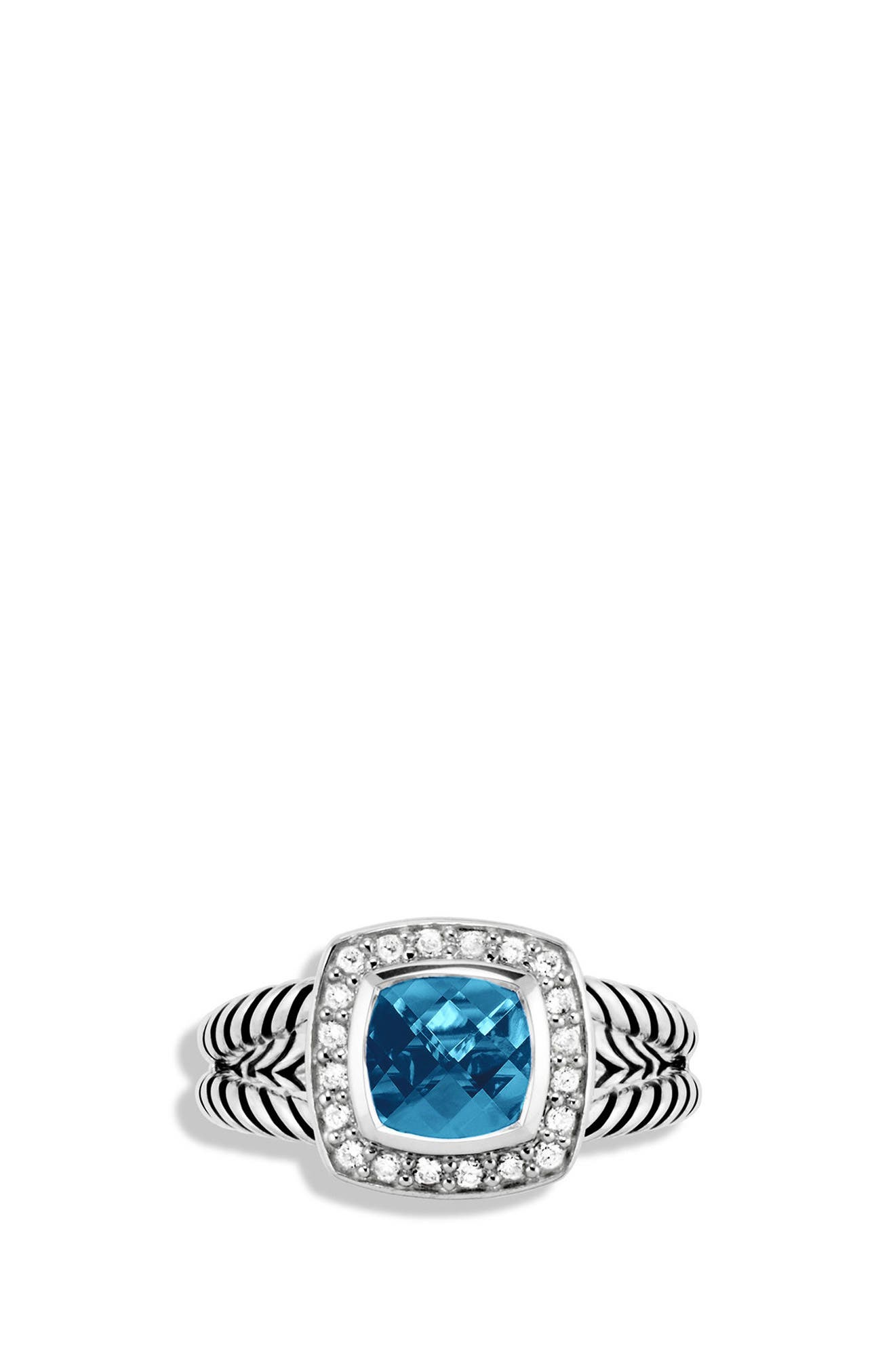 Alternate Image 3  - David Yurman Petite Albion® Ring with Diamonds