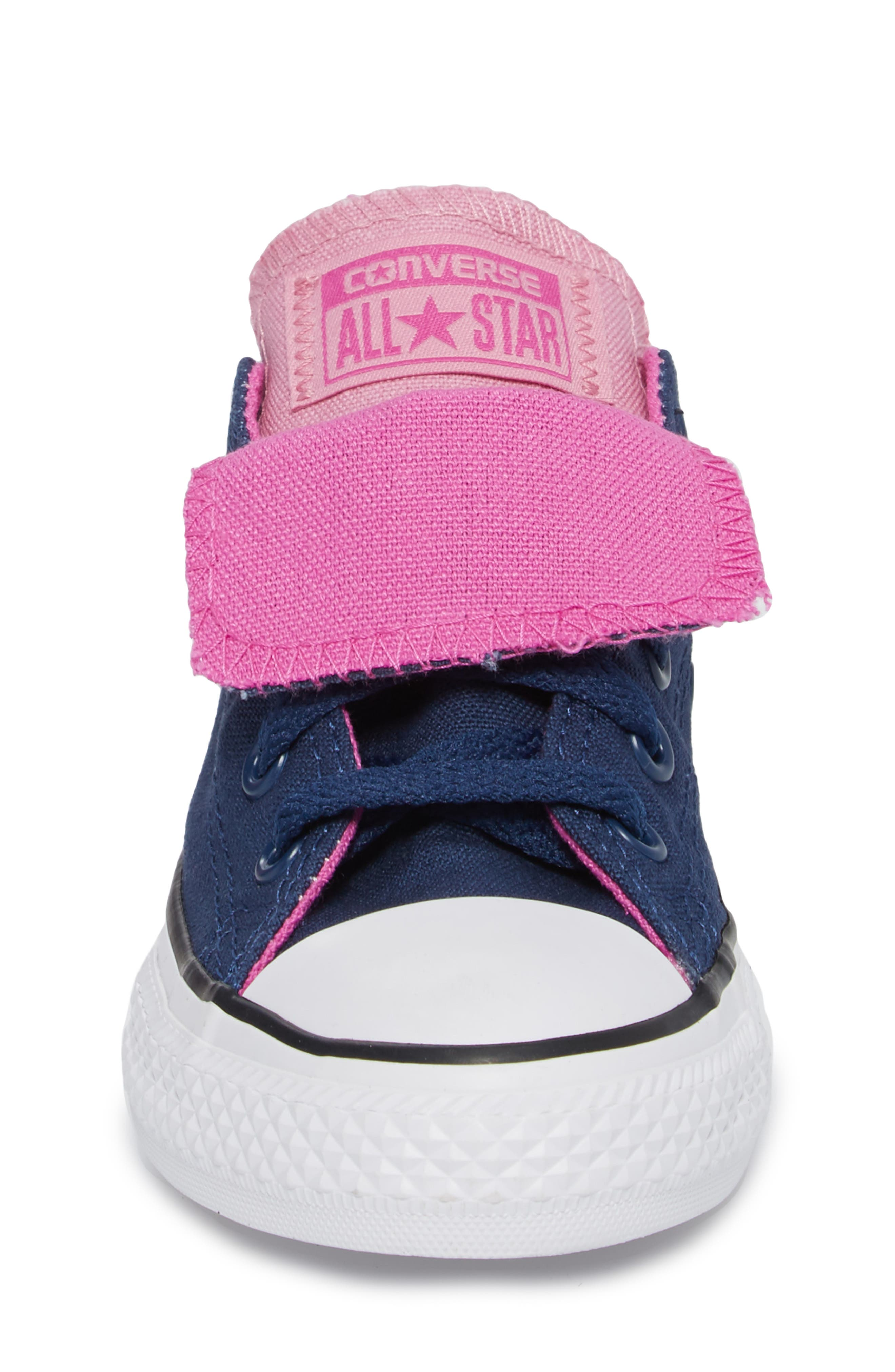 All Star<sup>®</sup> Double Tongue Sneaker,                             Alternate thumbnail 4, color,                             Navy