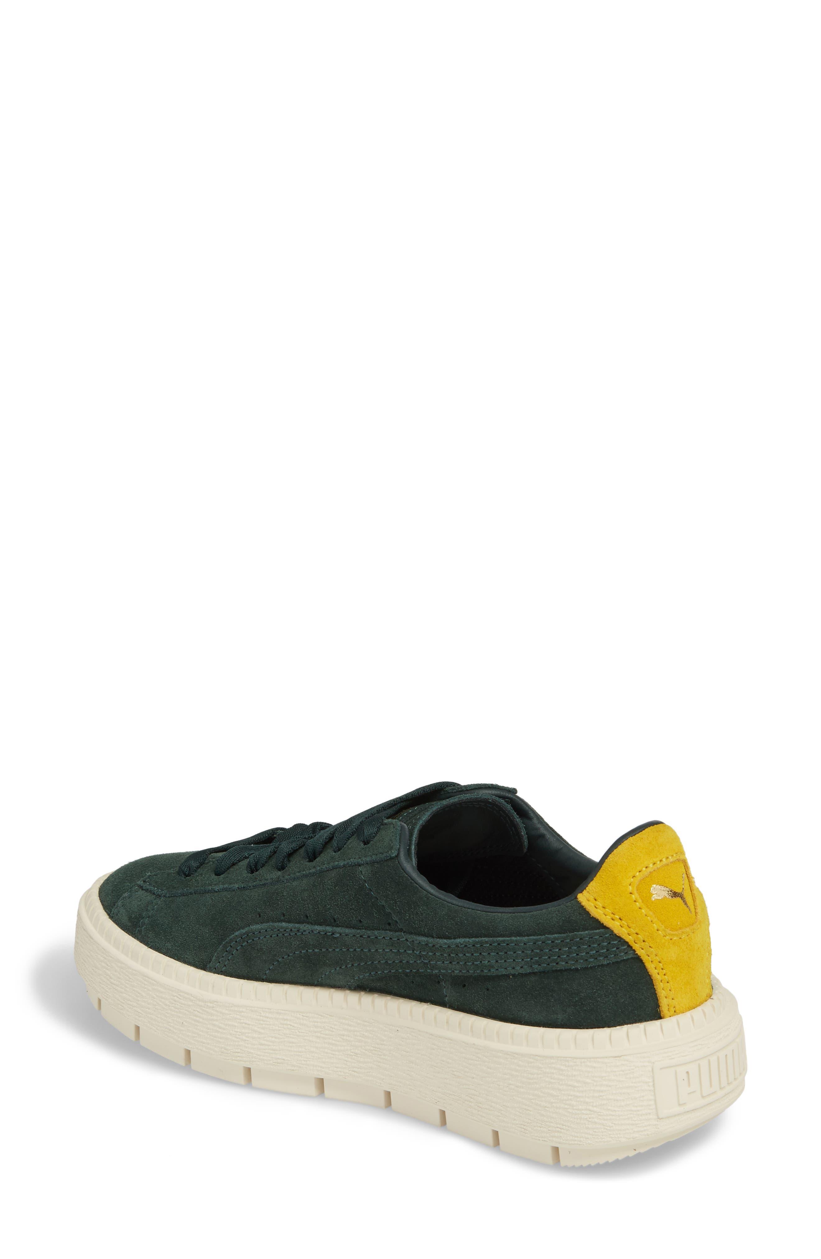 Platform Trace Bold Sneaker,                             Alternate thumbnail 2, color,                             Scrab-Lemon -Vanilla Ice