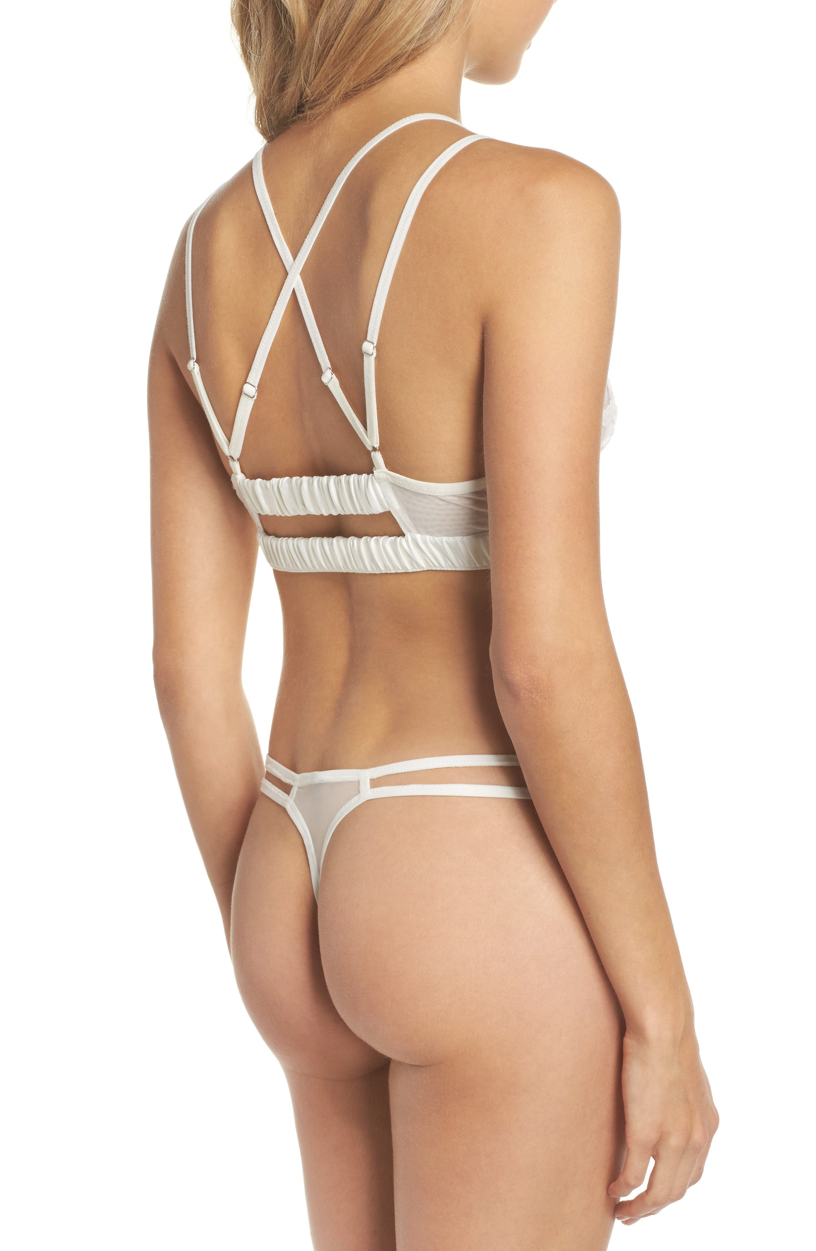 Thistle & Spire Cornelia Thong,                             Alternate thumbnail 6, color,                             Ivory