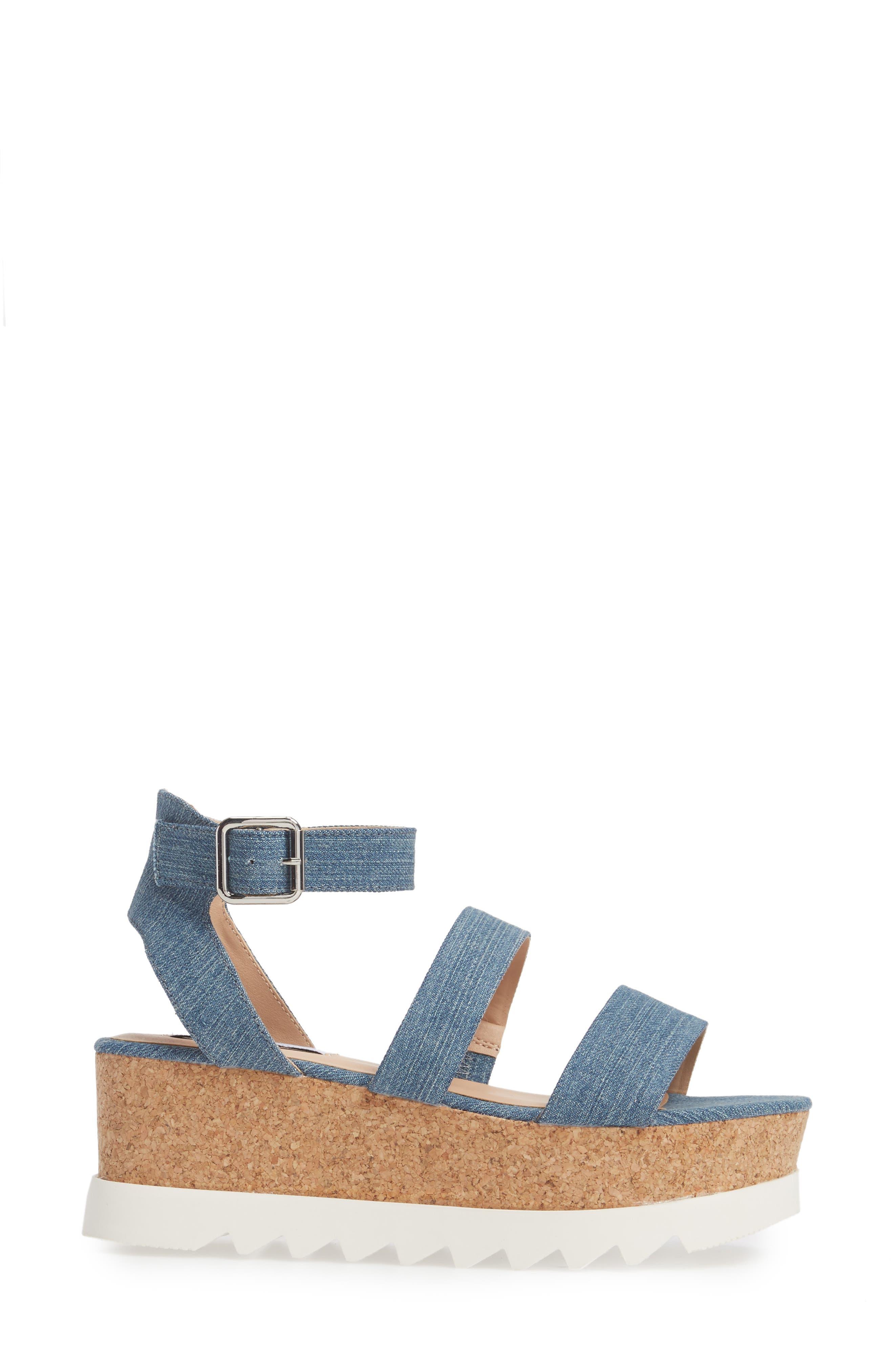 Alternate Image 3  - Steve Madden Kirsten Layered Platform Sandal (Women)