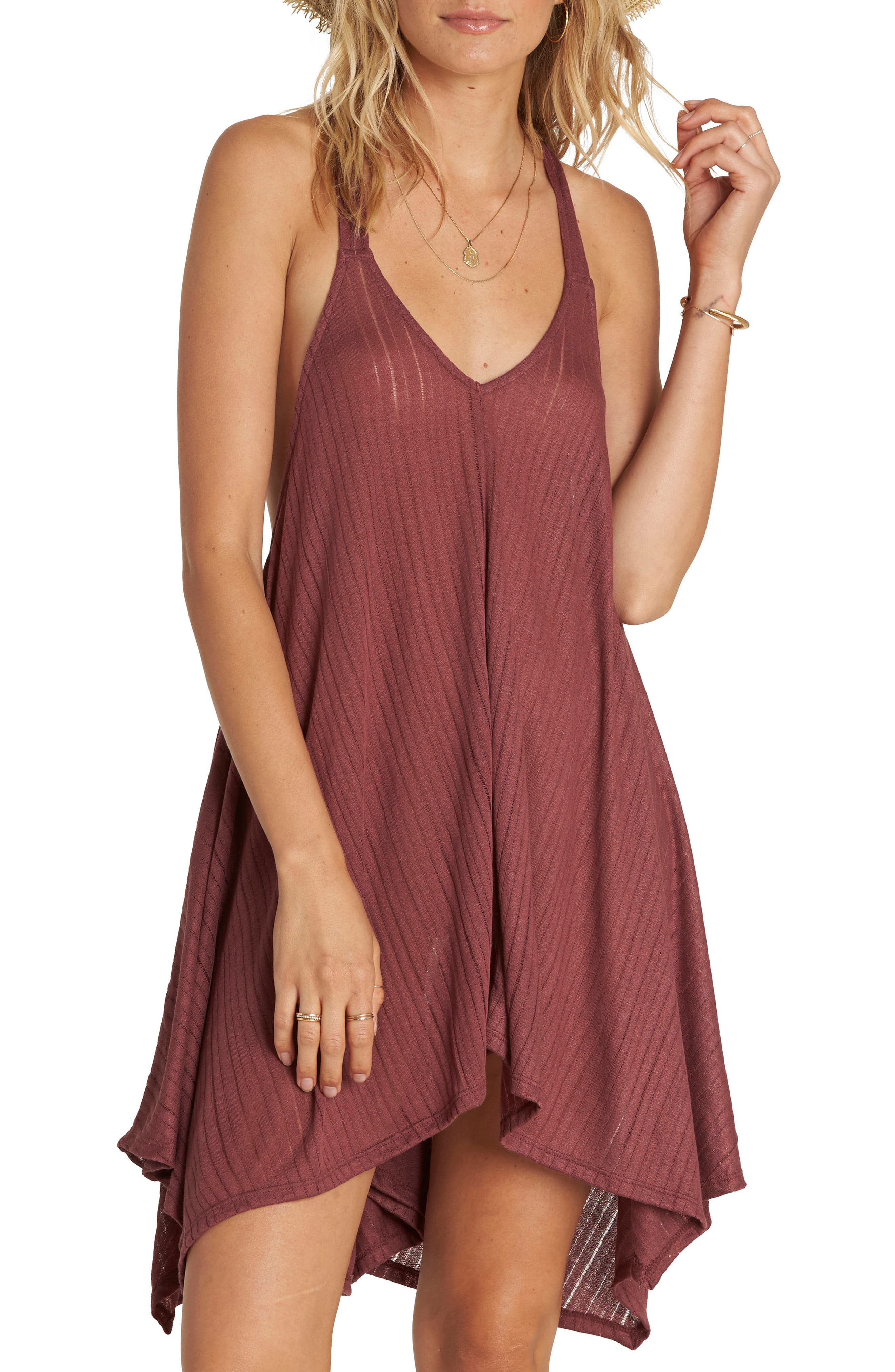 Alternate Image 1 Selected - Billabong Twisted View Cover-Up Dress
