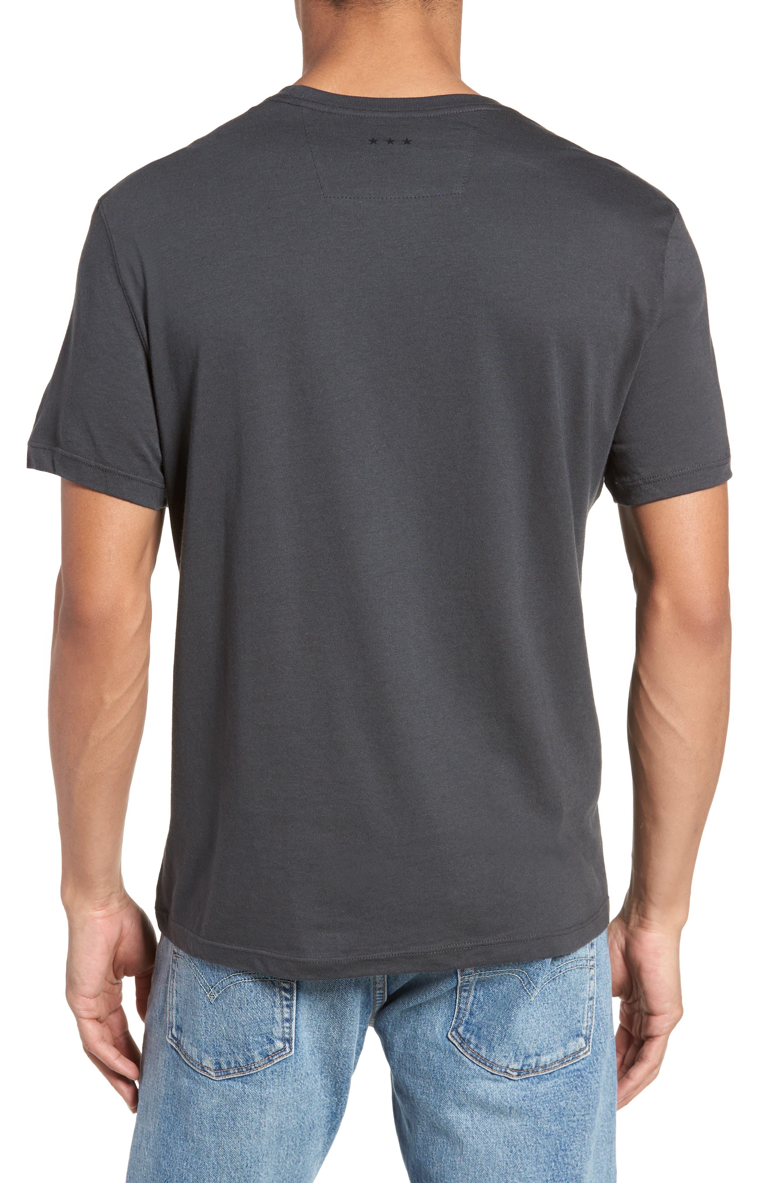 Guns N' Roses Graphic T-Shirt,                             Alternate thumbnail 2, color,                             Coal