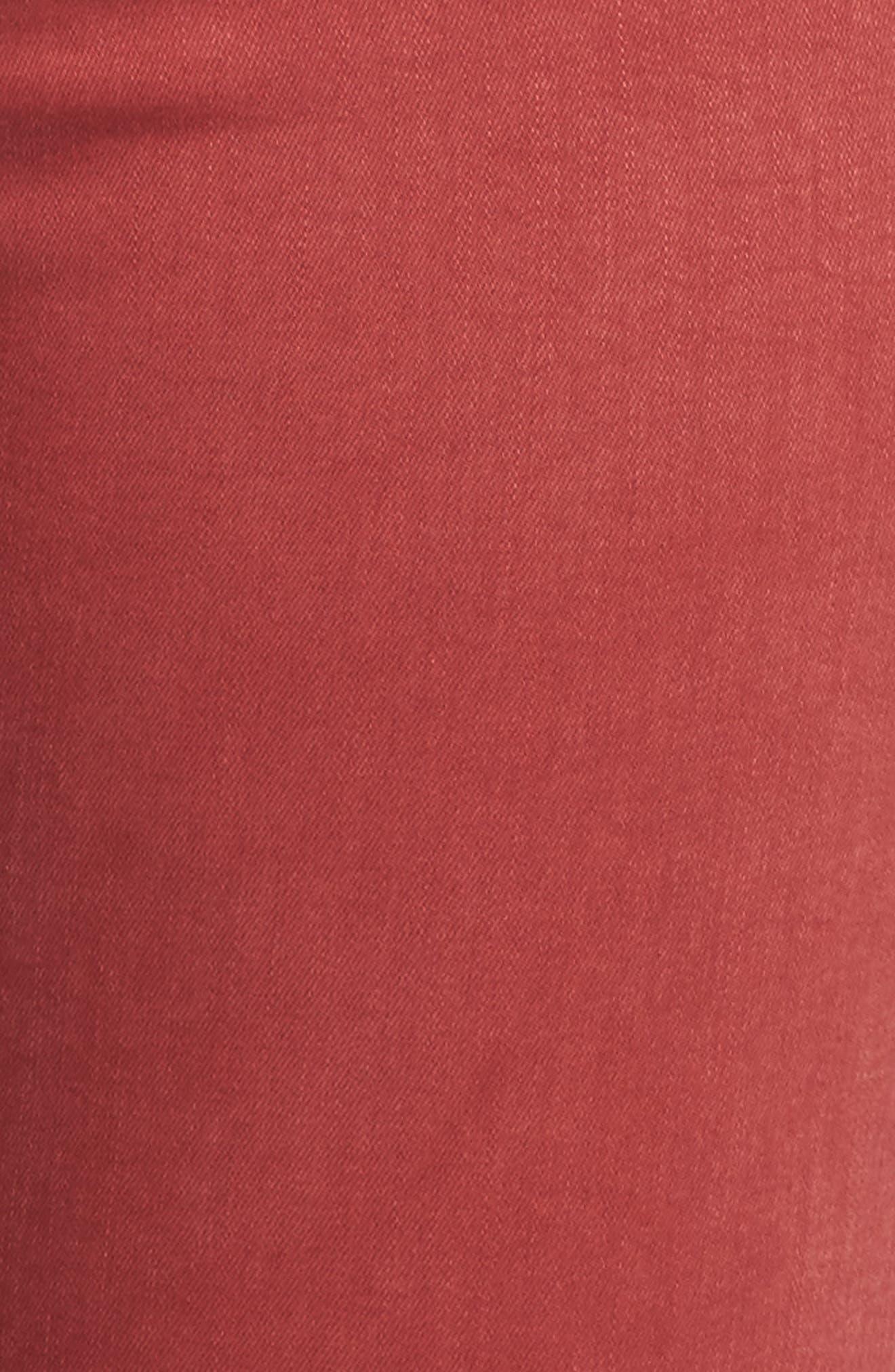 Emma Crop Jeans,                             Alternate thumbnail 6, color,                             La Cara