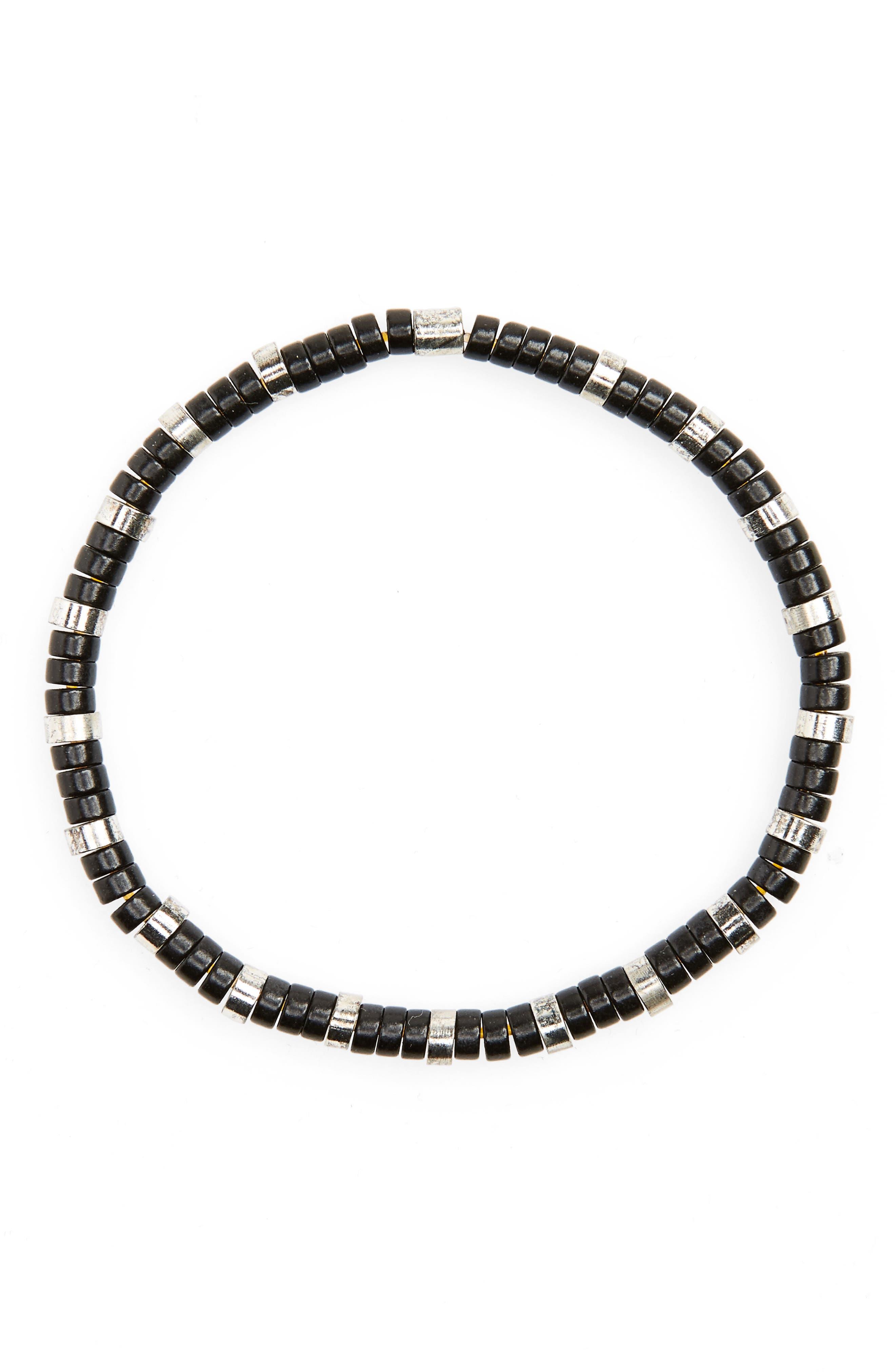 Main Image - LINK UP Disc Bead Bracelet