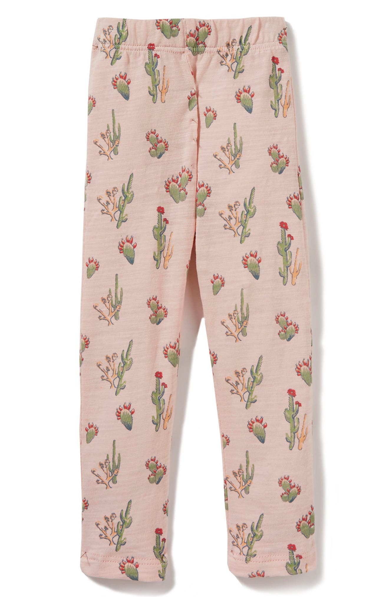 Peek Cactus Leggings (Baby Girls)