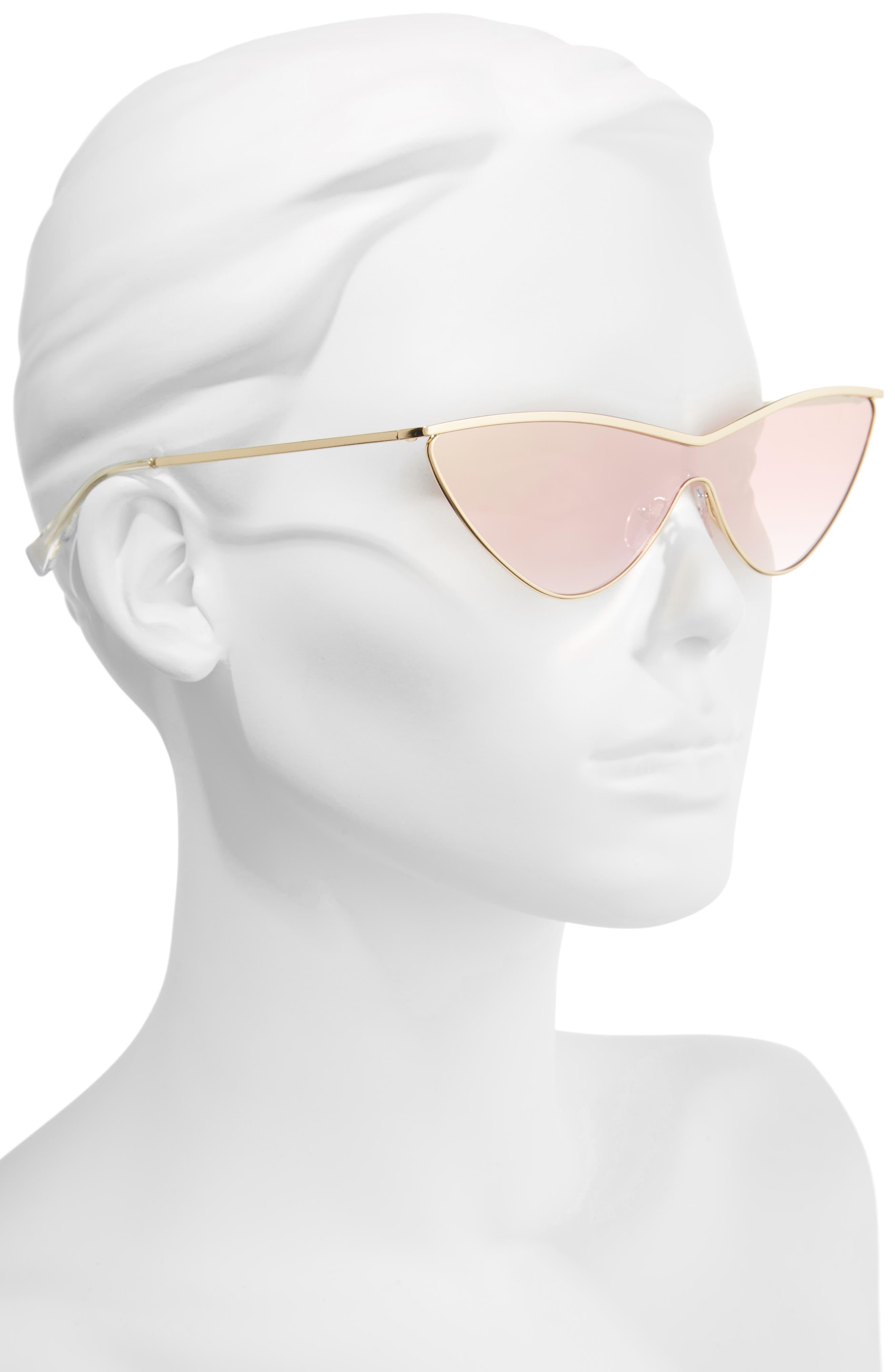 Alternate Image 2  - Adam Selman x Le Specs Luxe The Fugitive 71mm Sunglasses