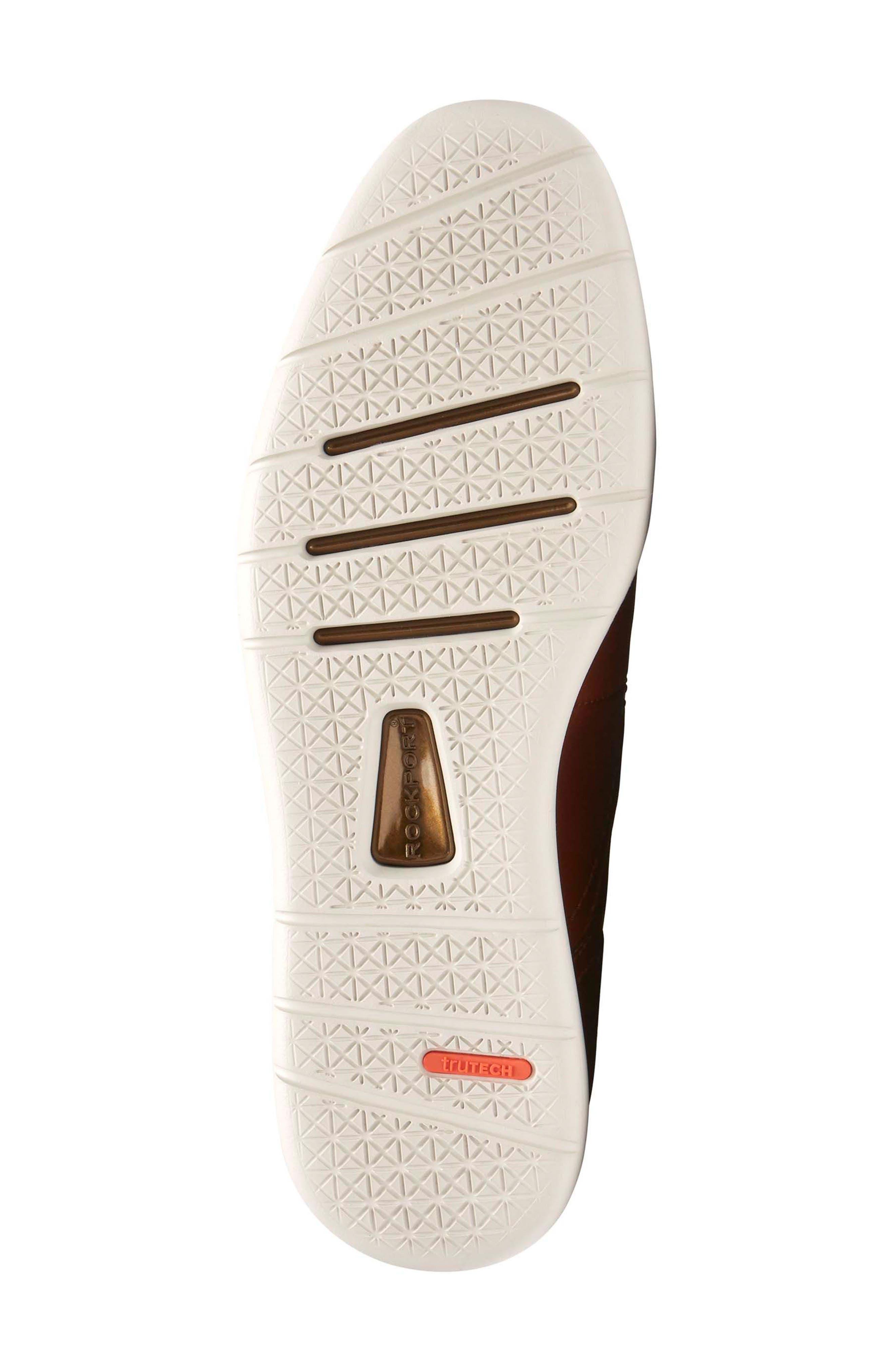 Total Motion Sport Plain Toe Derby,                             Alternate thumbnail 6, color,                             Tan Leather