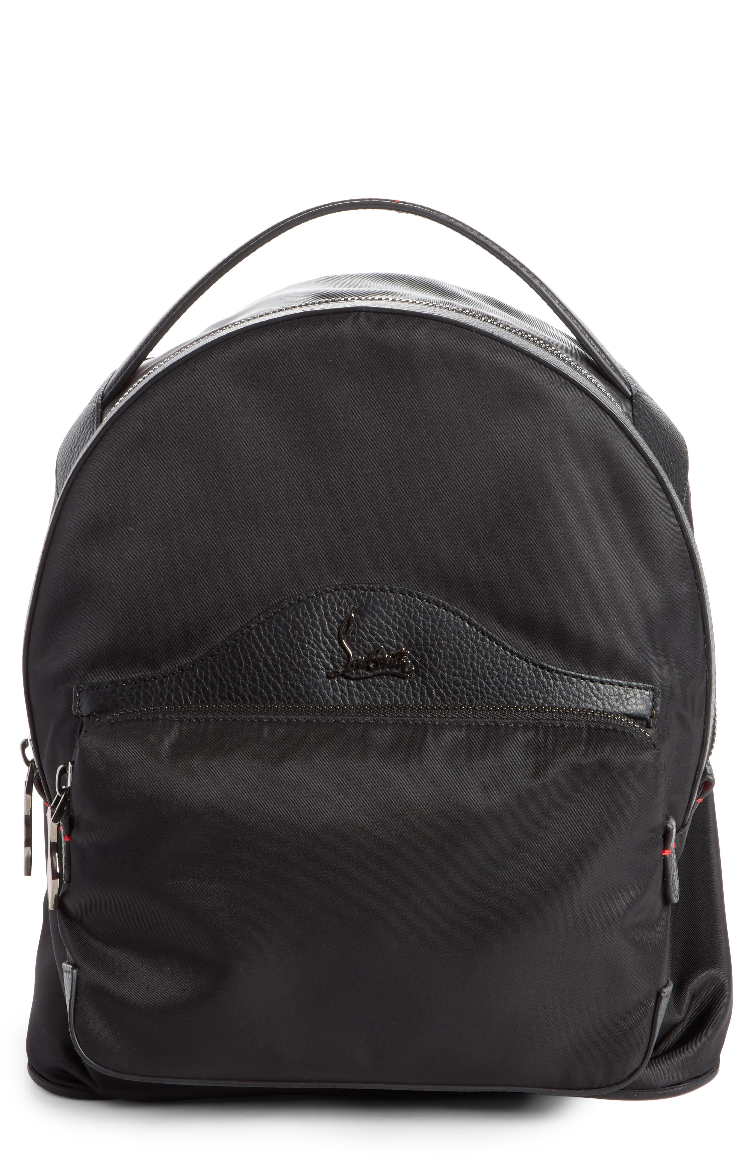 Christian Louboutin Small Backloubi Nylon Backpack