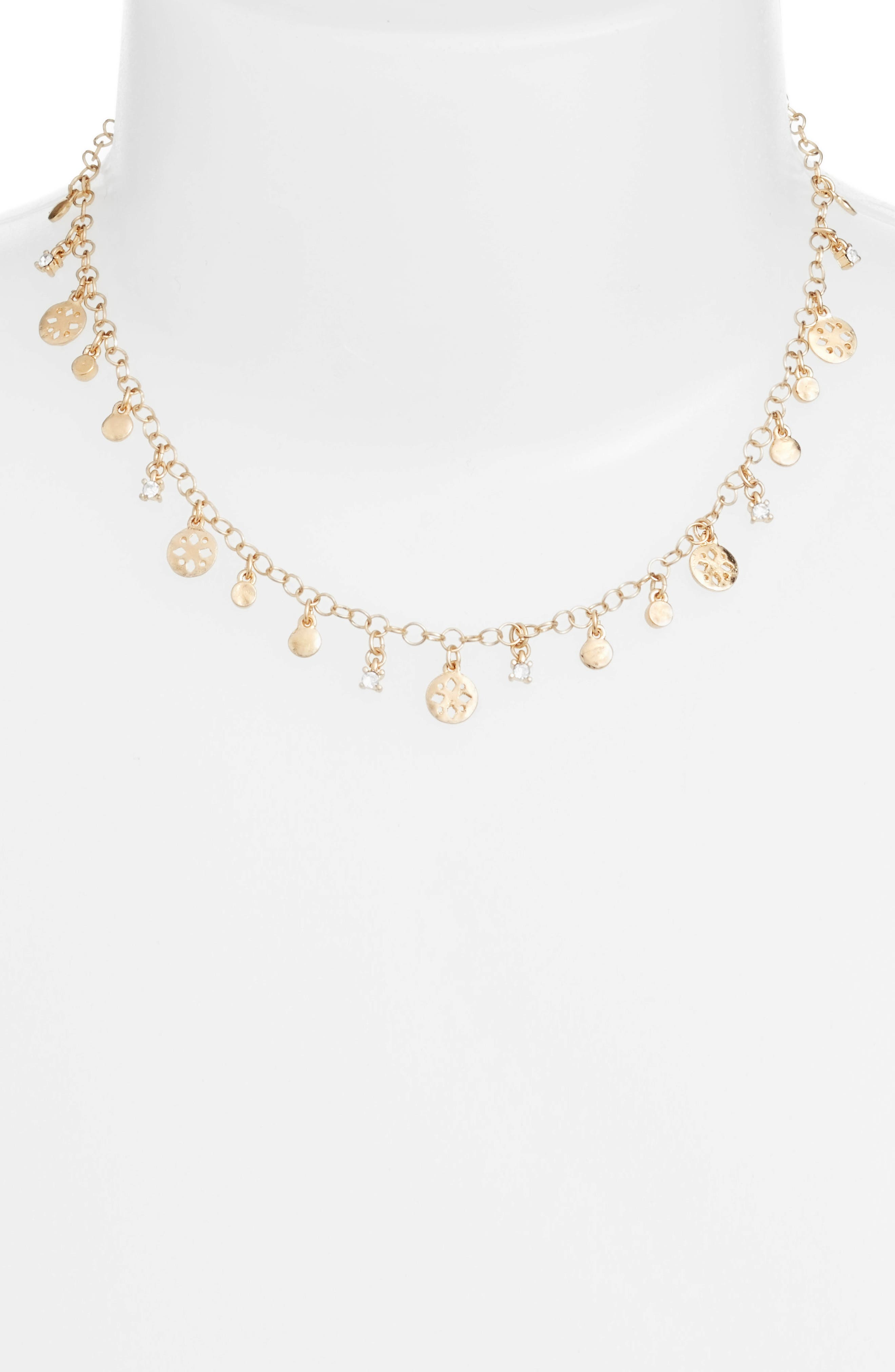Treasure & Bond Disc Pendant Necklace