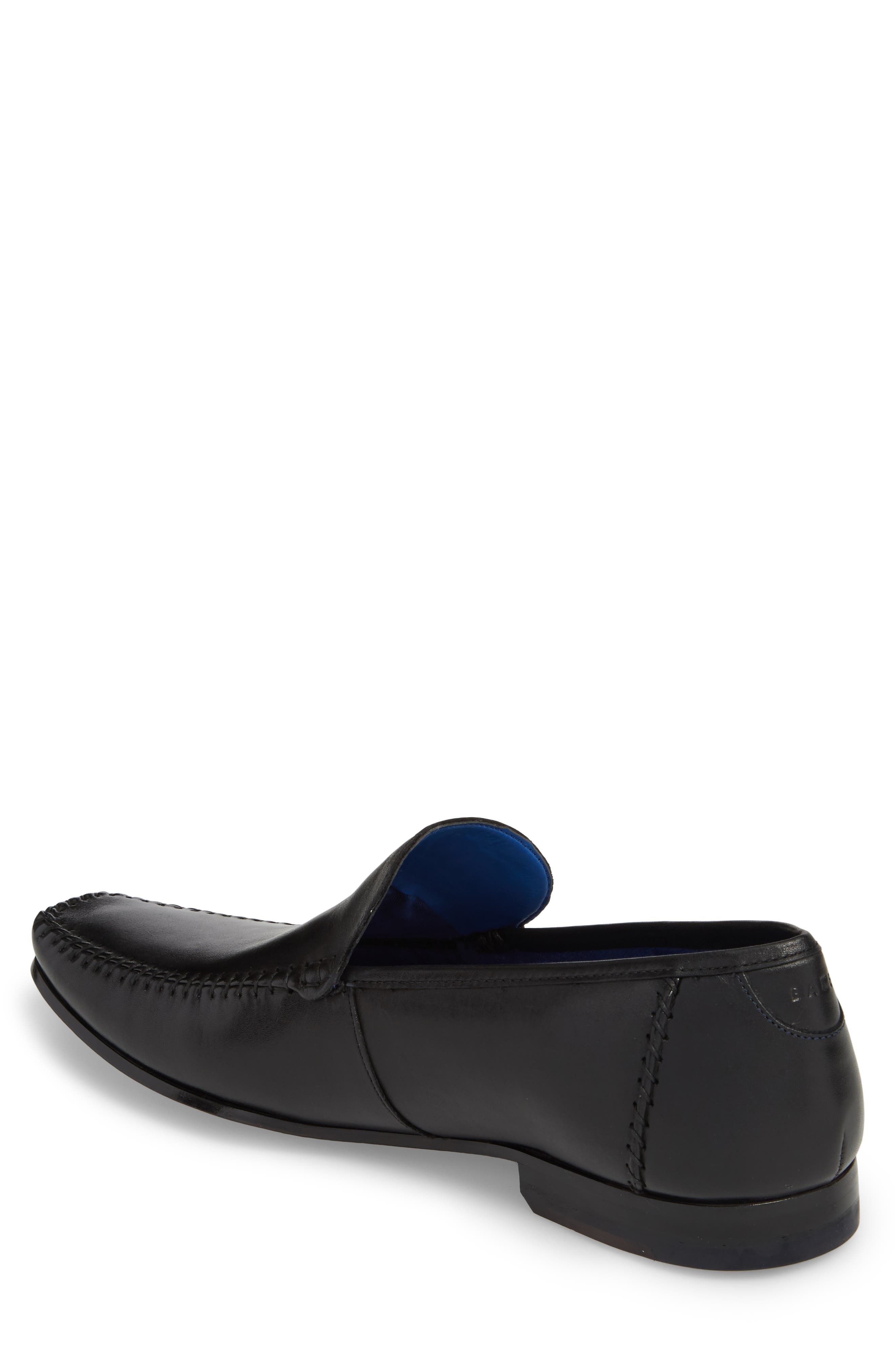 Bly 9 Venetian Loafer,                             Alternate thumbnail 2, color,                             Black Leather