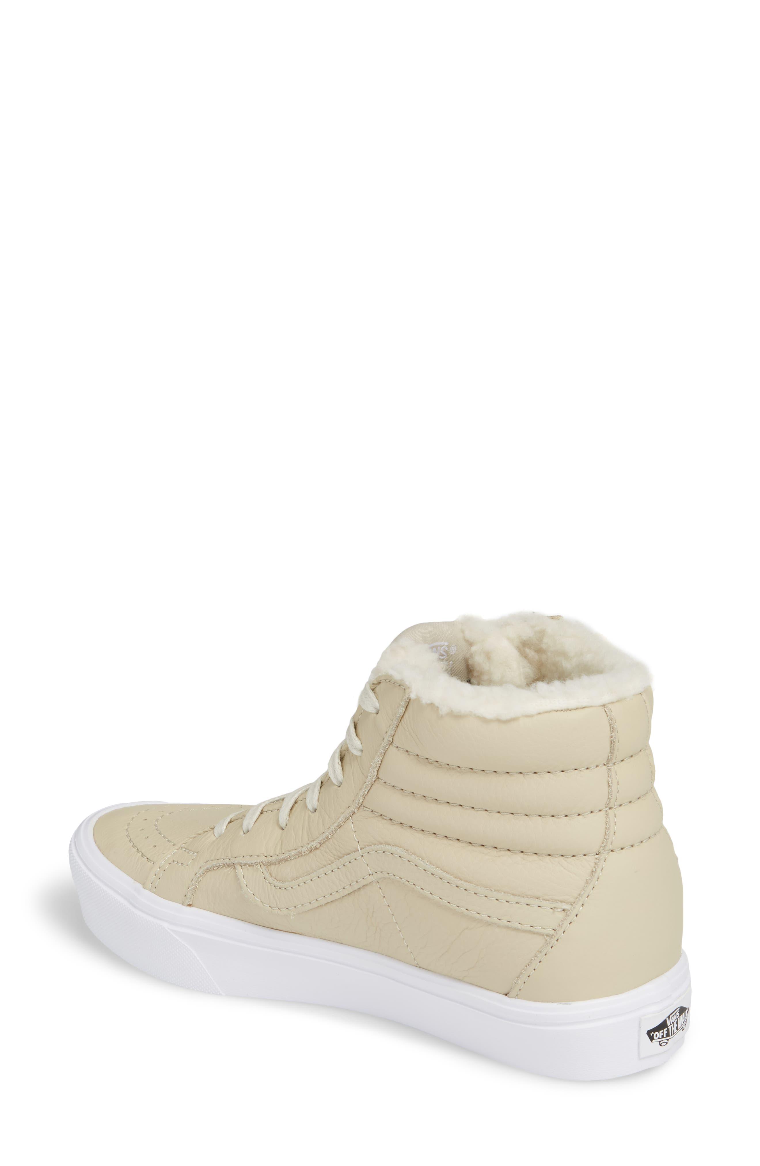 Sk8-Hi Reissue Lite High Top Sneaker,                             Alternate thumbnail 2, color,                             Cement/ True White