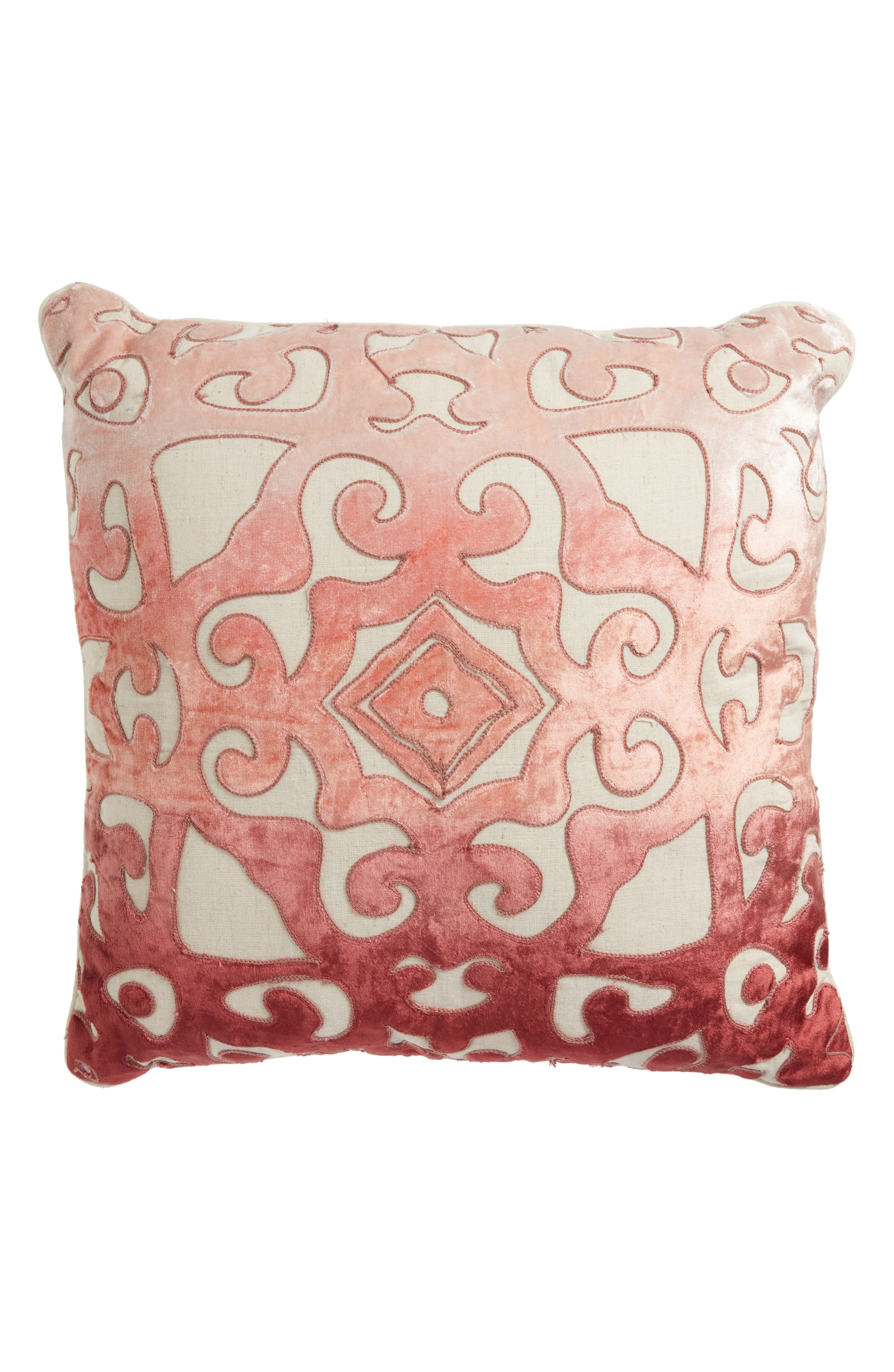Alternate Image 1 Selected - Nordstrom at Home Velvet Cutout Accent Pillow