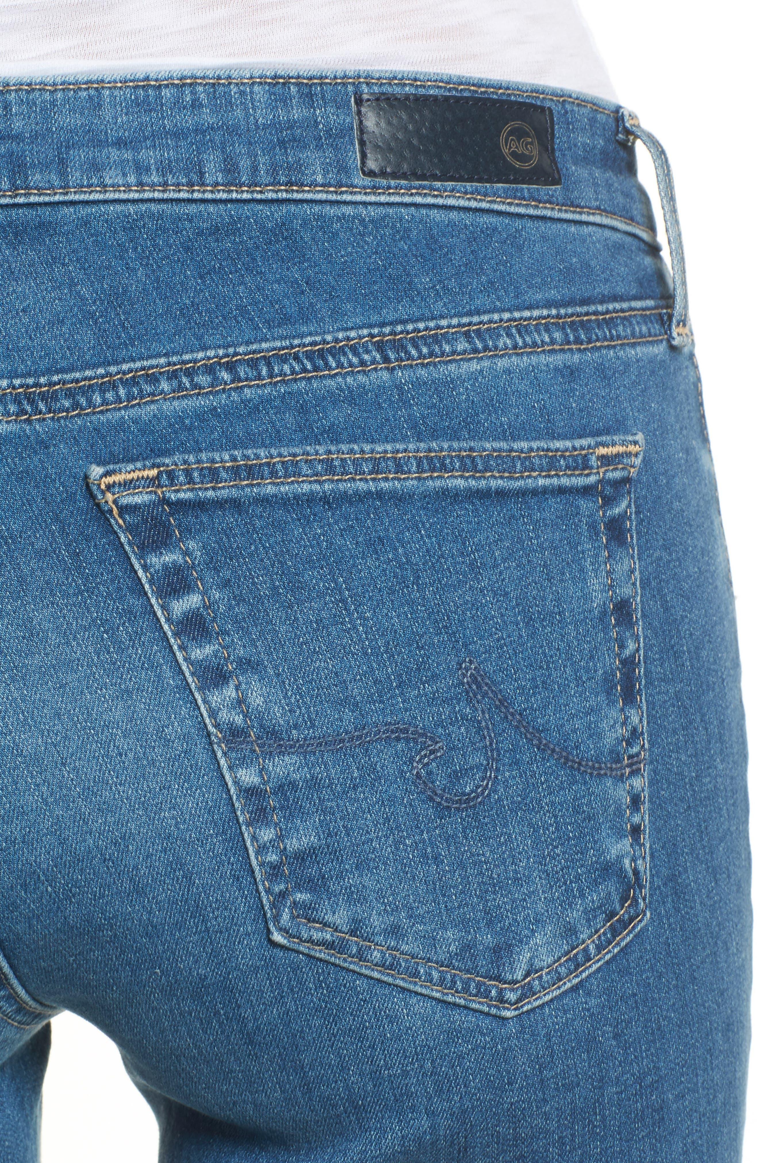 The Legging Super Skinny Jeans,                             Alternate thumbnail 4, color,                             Indigo Viking