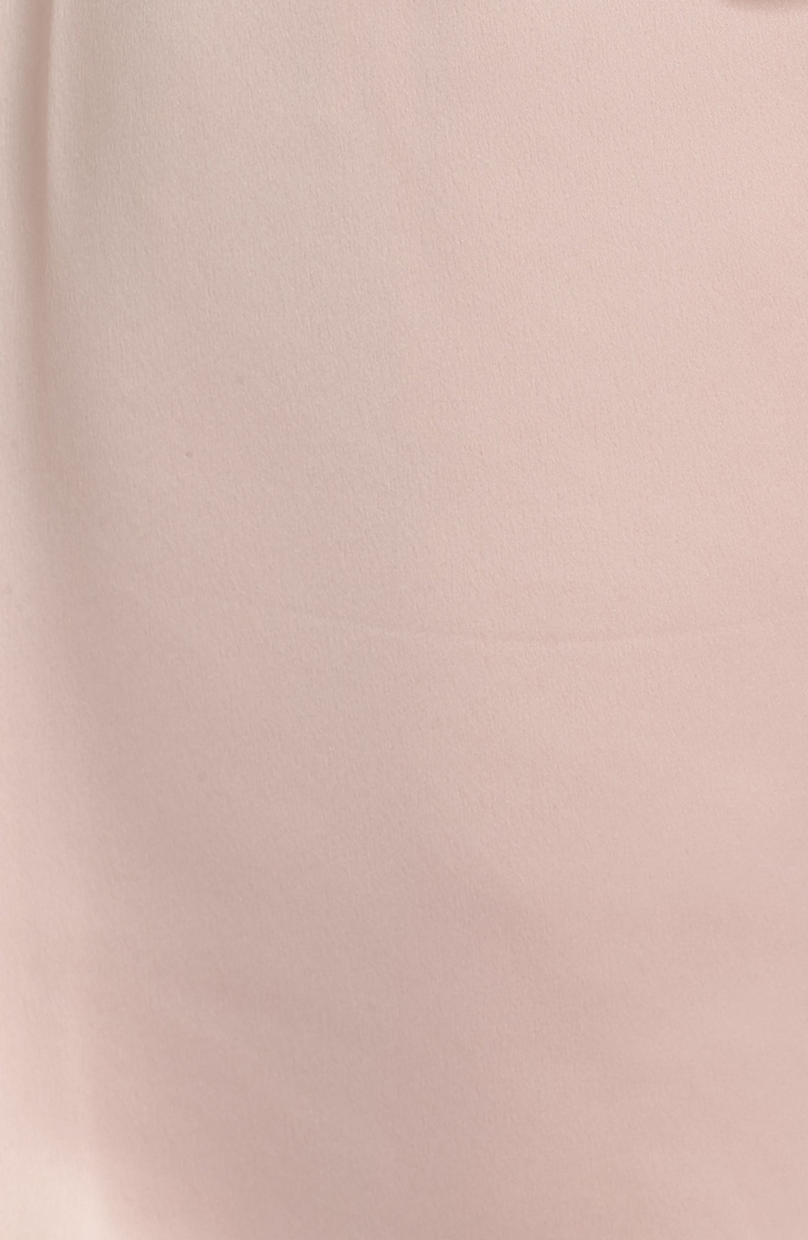 Showstopper Robe,                             Alternate thumbnail 6, color,                             Shell Pink