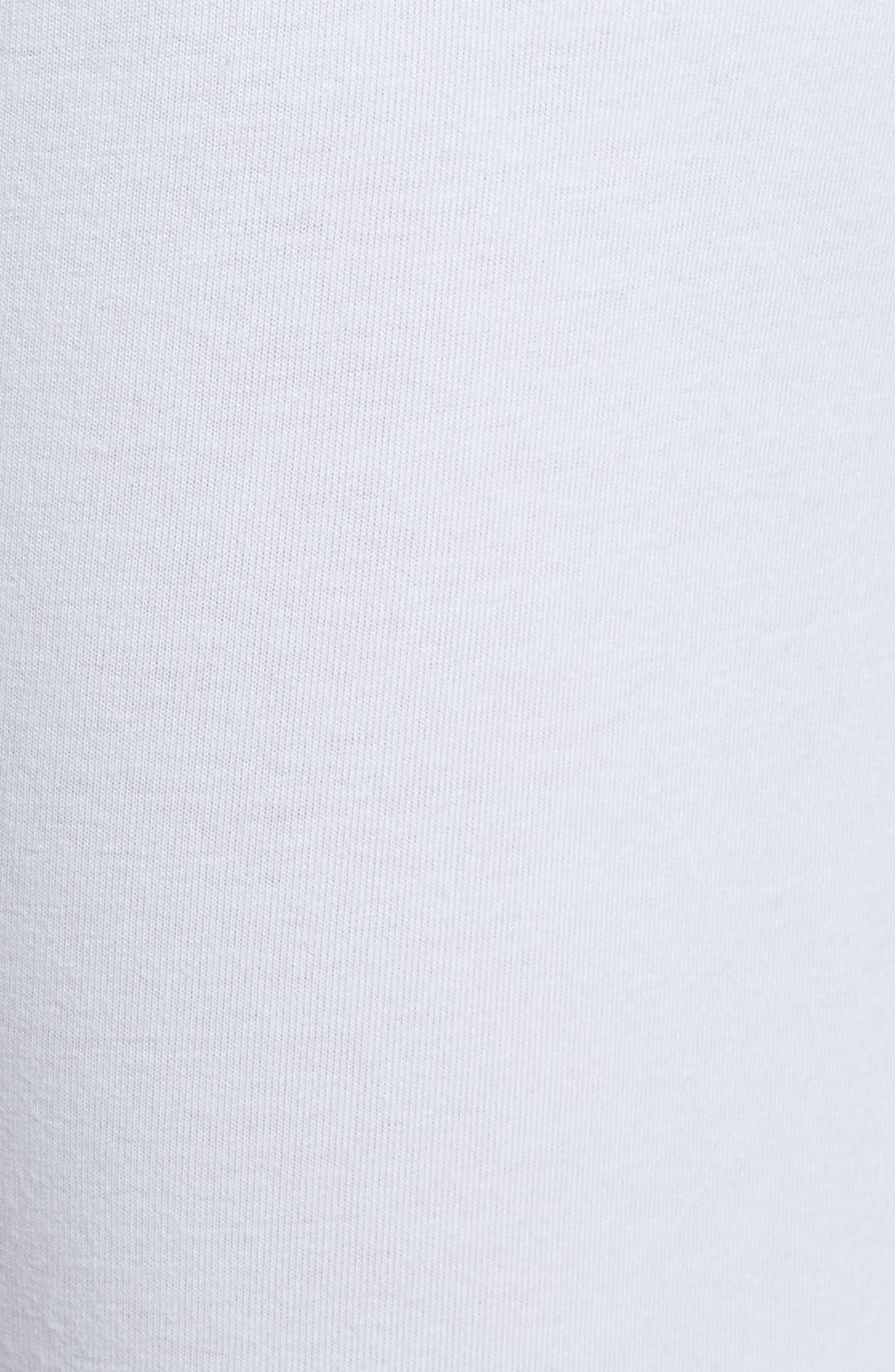 Lace Block Skimmer Leggings,                             Alternate thumbnail 5, color,                             White