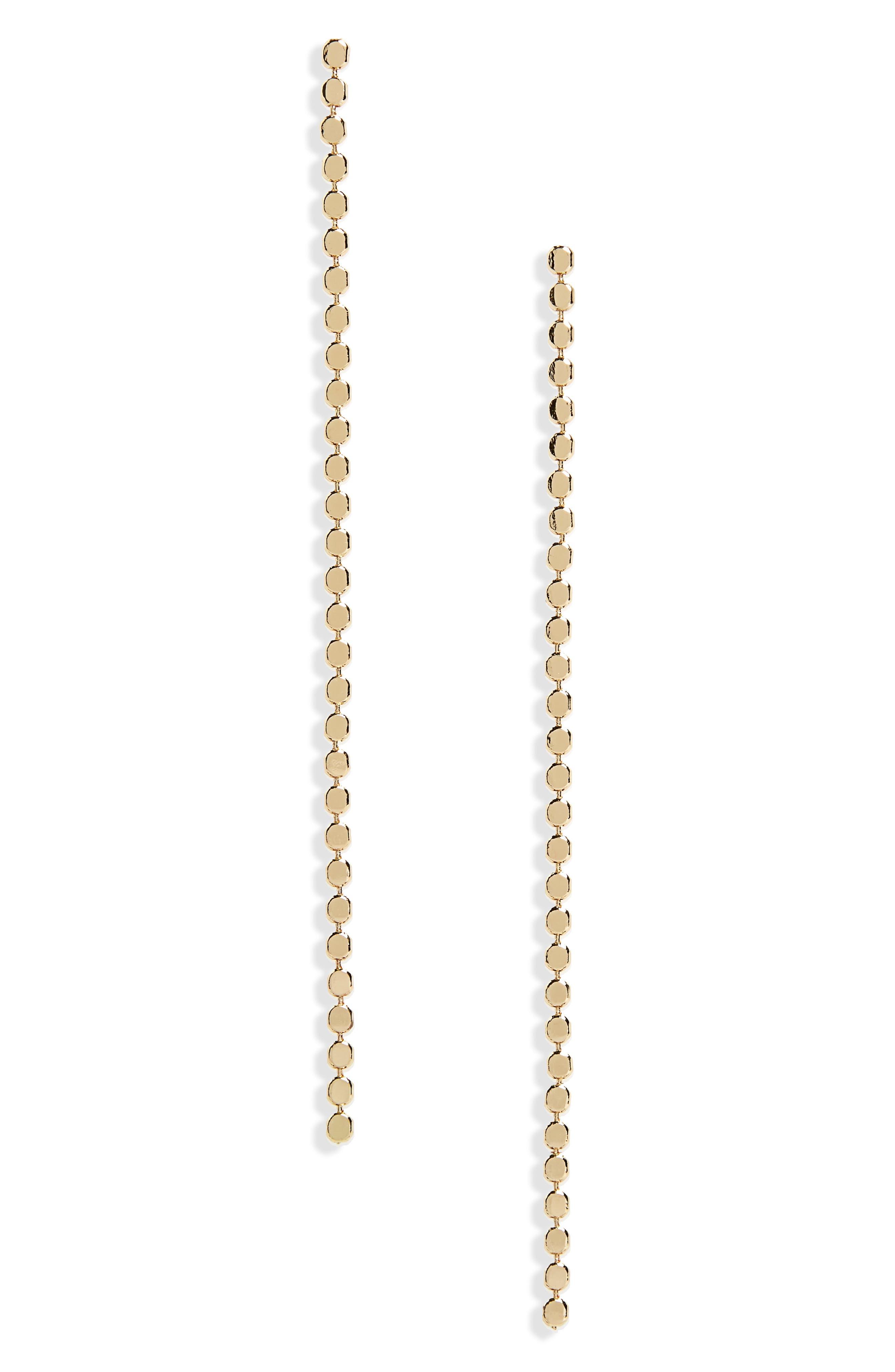 Dainty Drop Earrings,                         Main,                         color, Gold