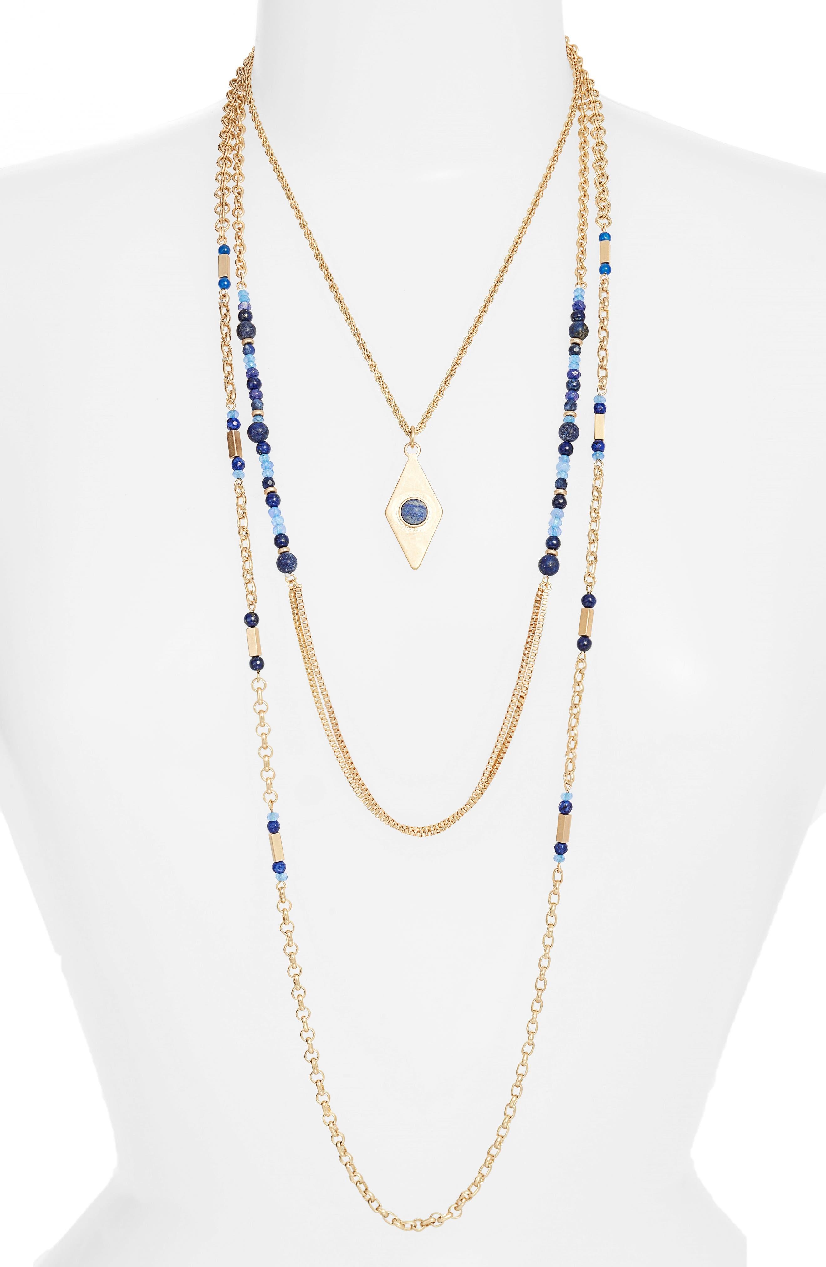 Treasure & Bond Multistrand Necklace