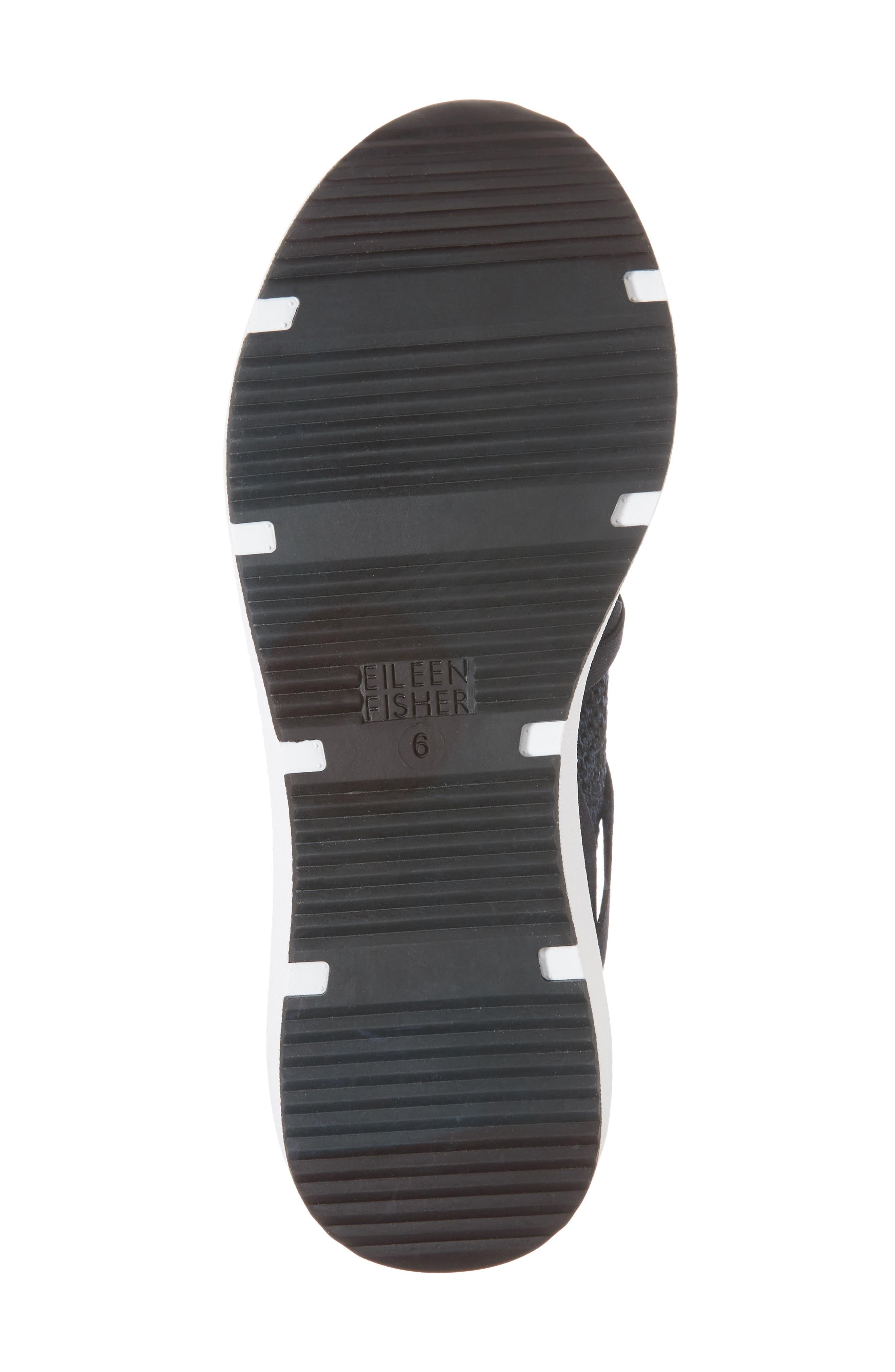 Xanady Woven Slip-On Sneaker,                             Alternate thumbnail 6, color,                             Black/ Marine Stretch