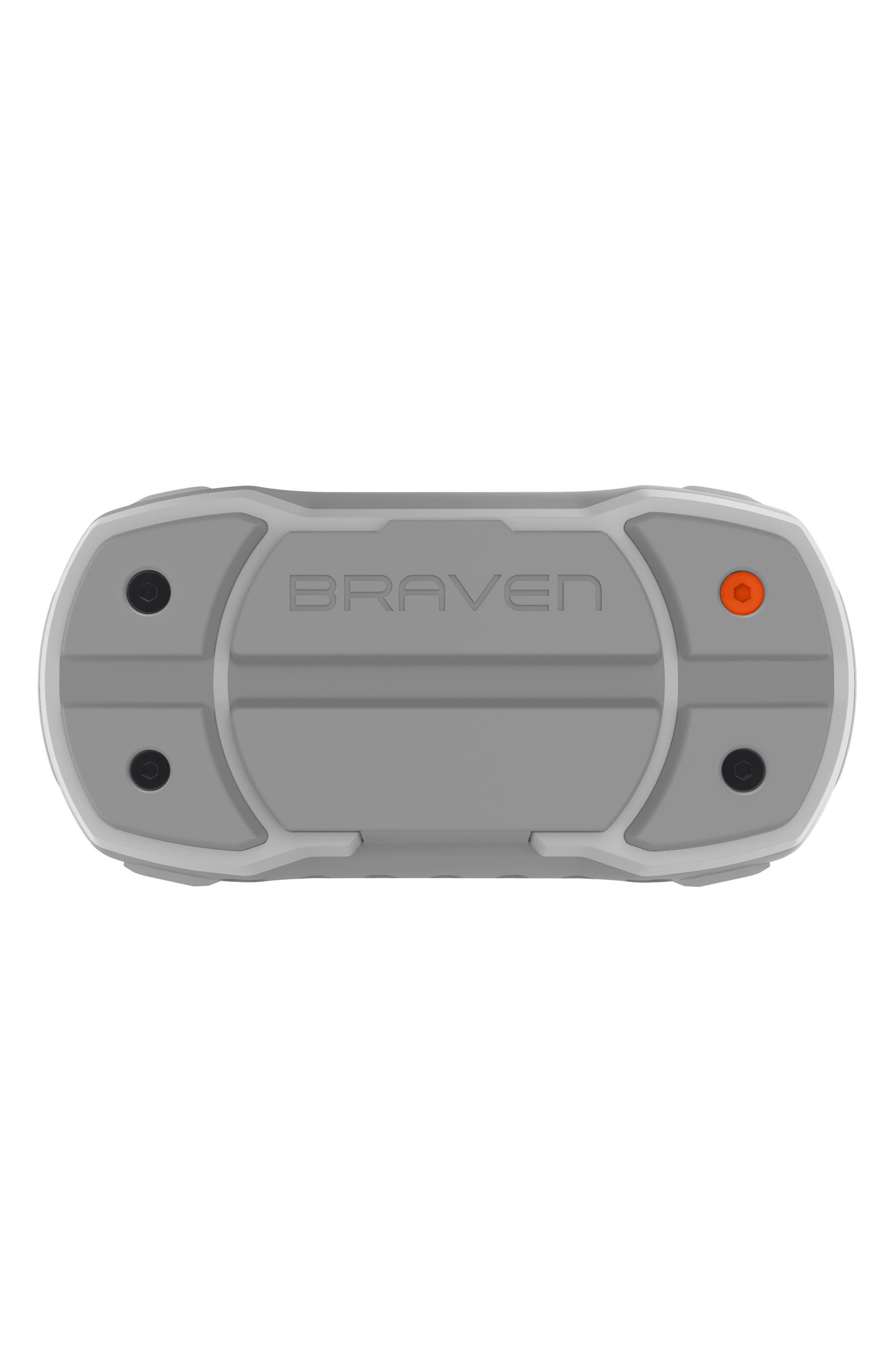Ready Pro Bluetooth<sup>®</sup> Speaker,                             Alternate thumbnail 4, color,                             Grey/ Orange
