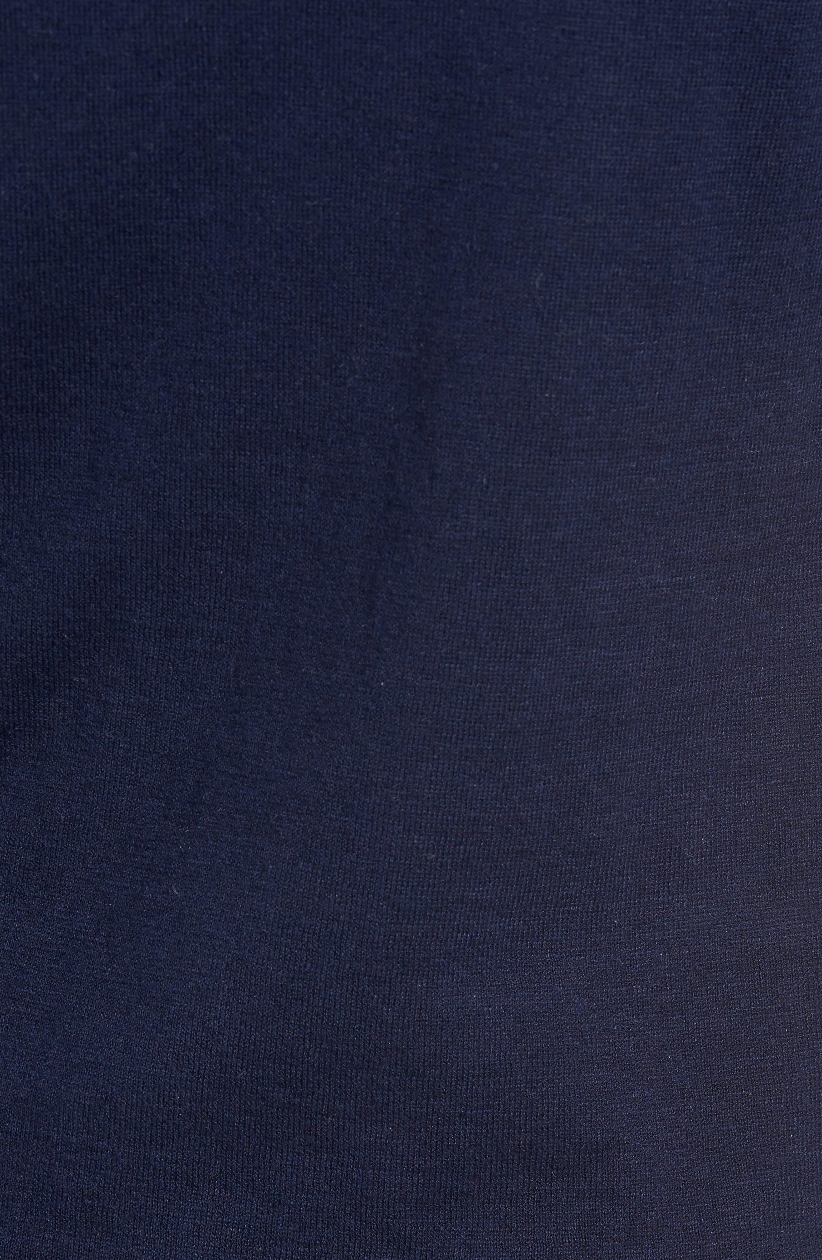 Alternate Image 5  - Nordstrom Men's Shop Long Sleeve Cotton & Linen Blend Henley
