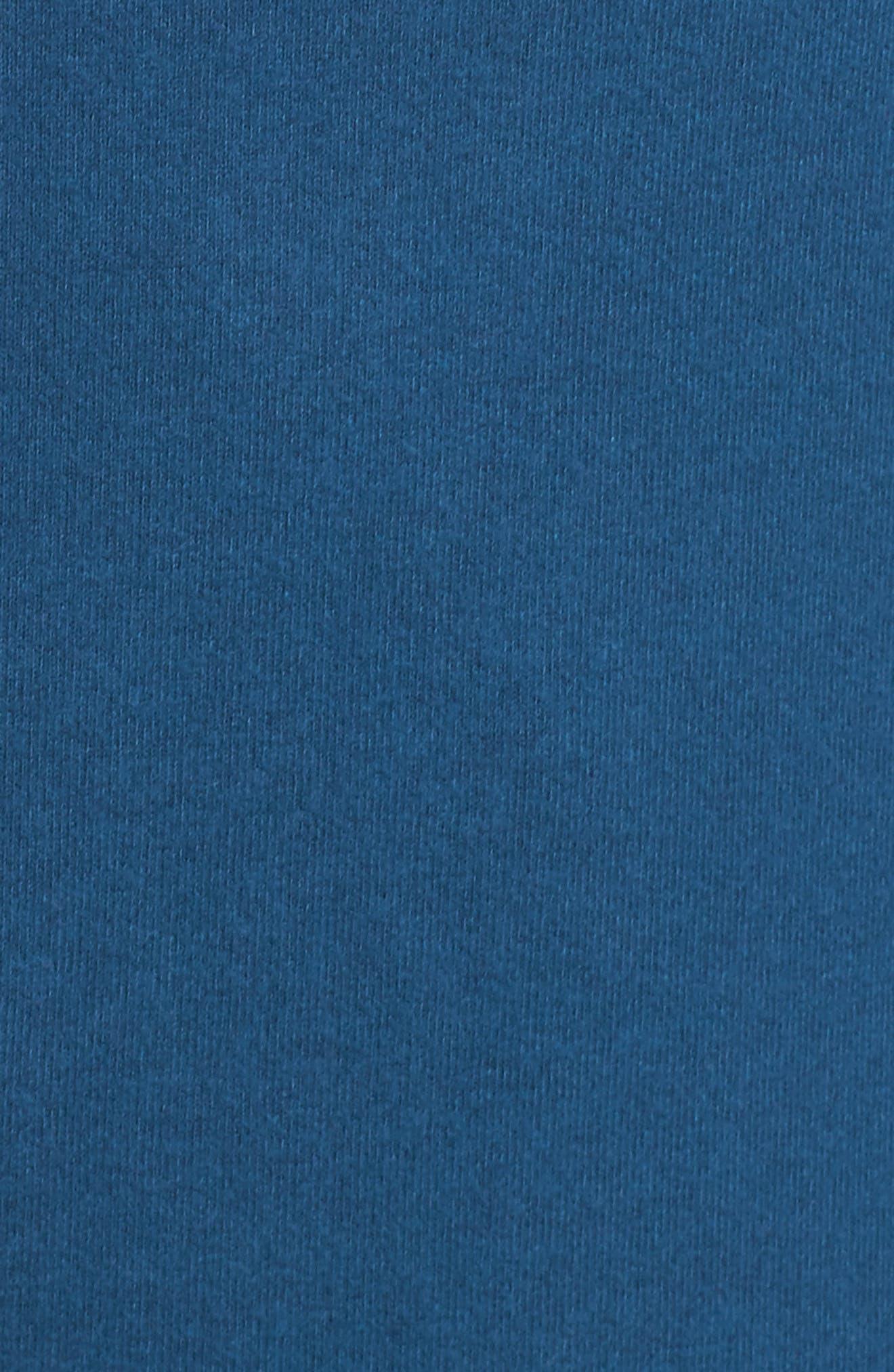 Alternate Image 5  - Gibson Convertible Neckline Cozy Fleece Tunic (Plus Size)