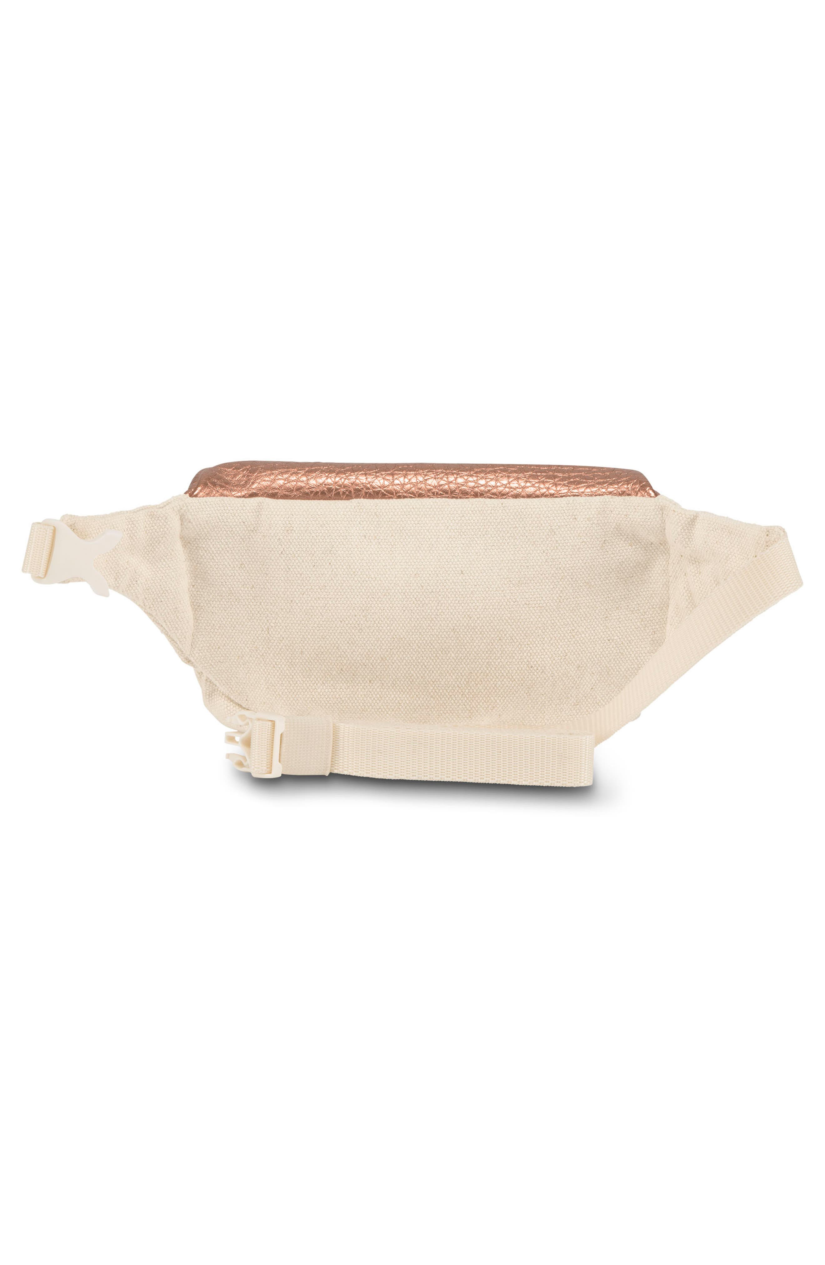 Hippyland Fanny Pack,                             Alternate thumbnail 3, color,                             Rose Gold