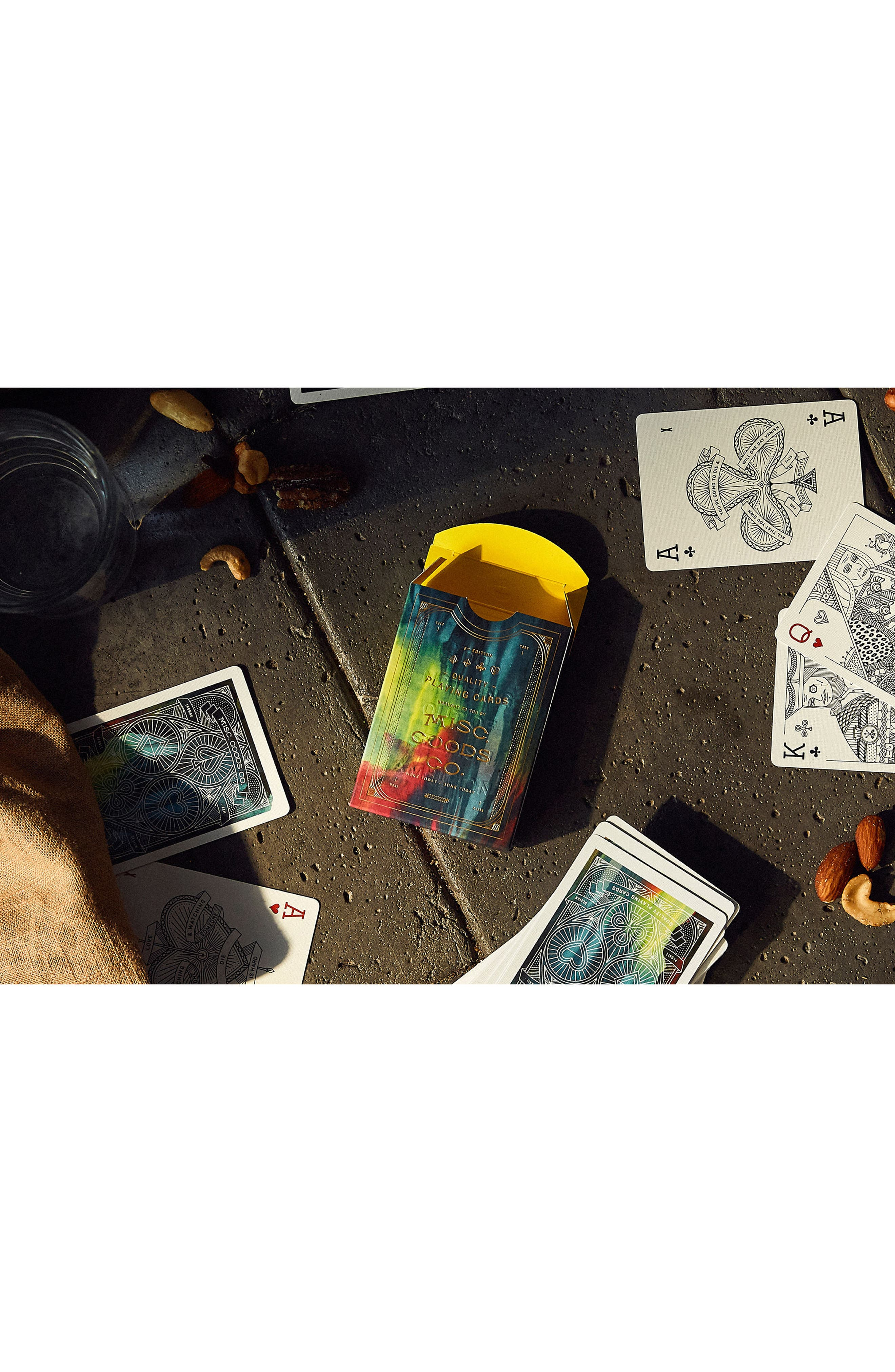 Cina Playing Cards,                             Alternate thumbnail 6, color,                             Multi