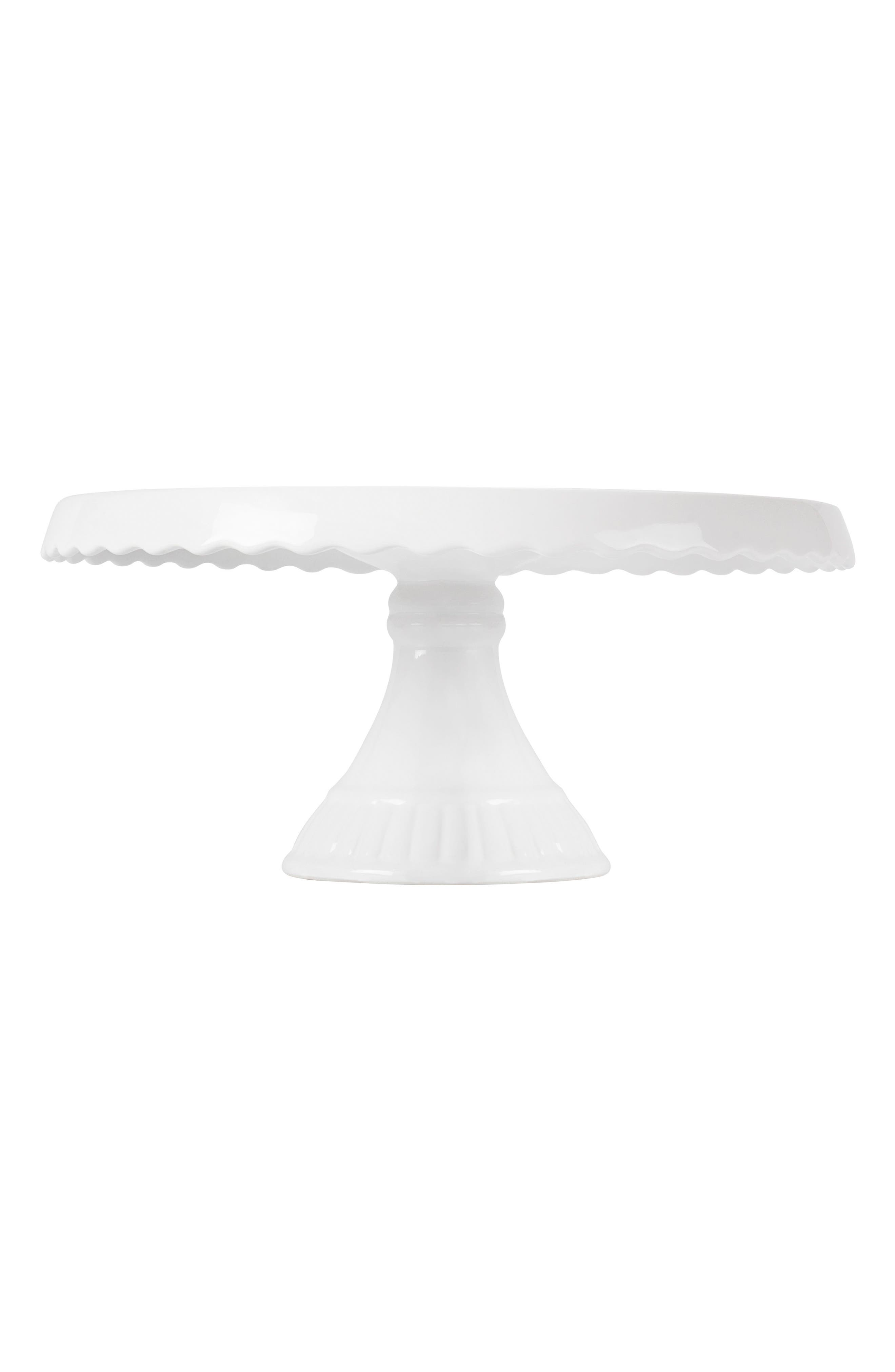 Love Cake Stand,                             Alternate thumbnail 4, color,                             Gold