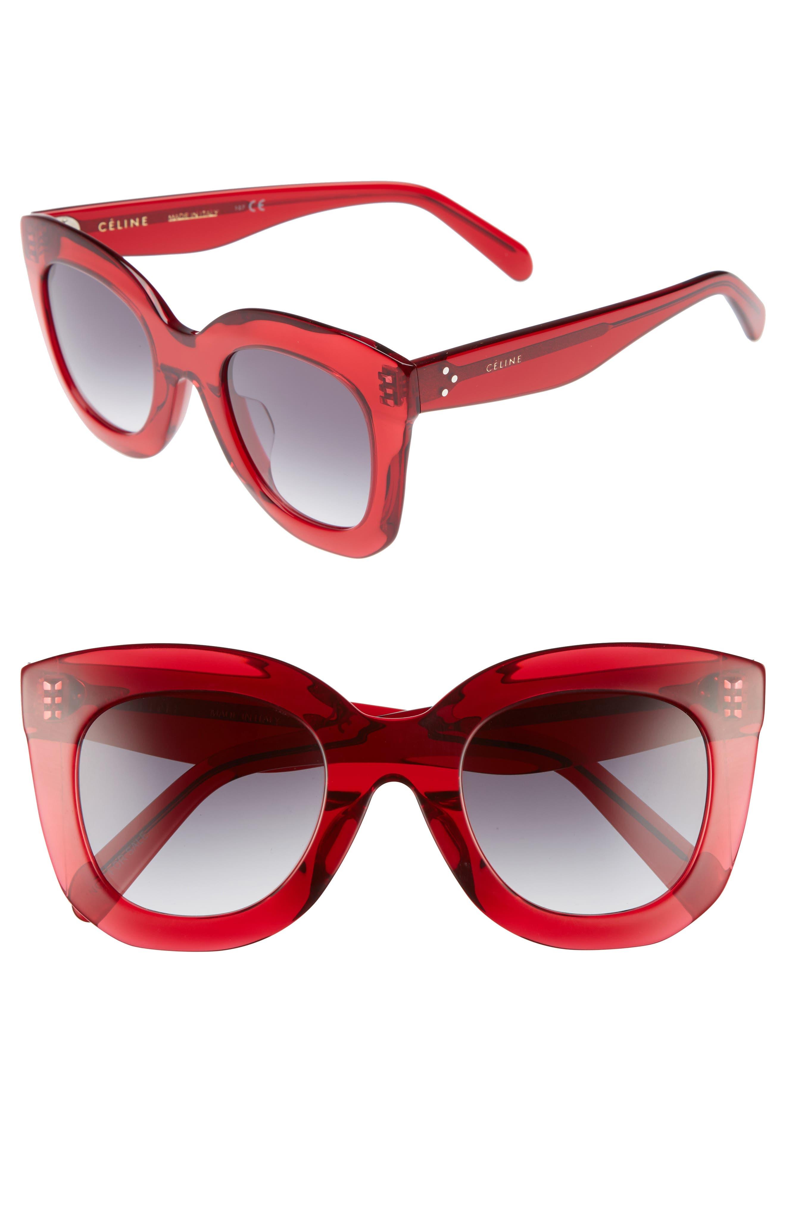 Main Image - Céline Special Fit 49mm Cat Eye Sunglasses