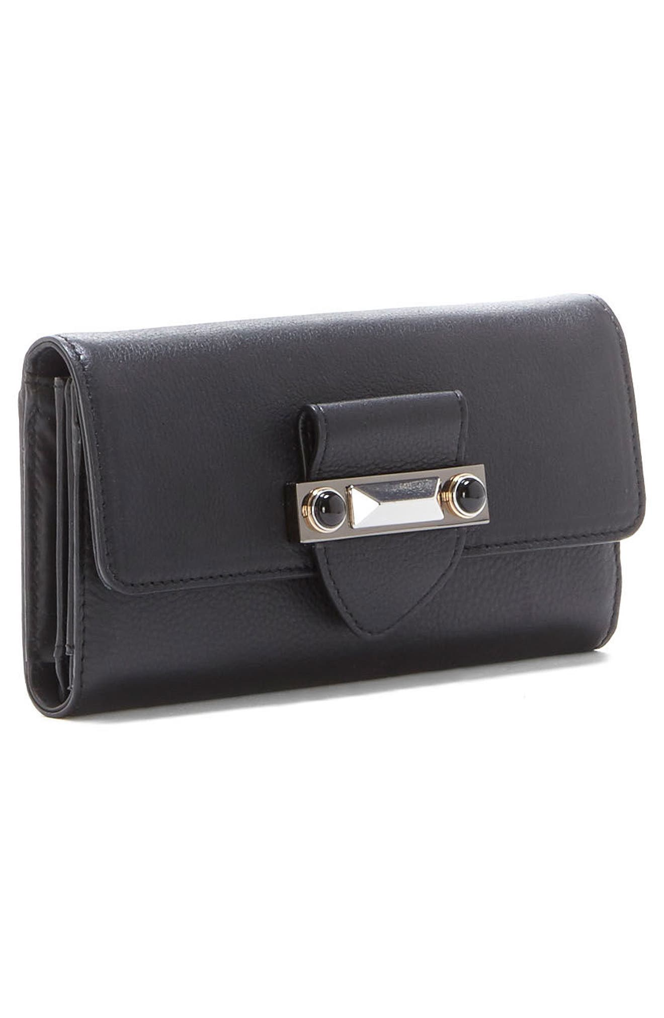 Alternate Image 4  - Vince Camuto Bitty Leather Wallet