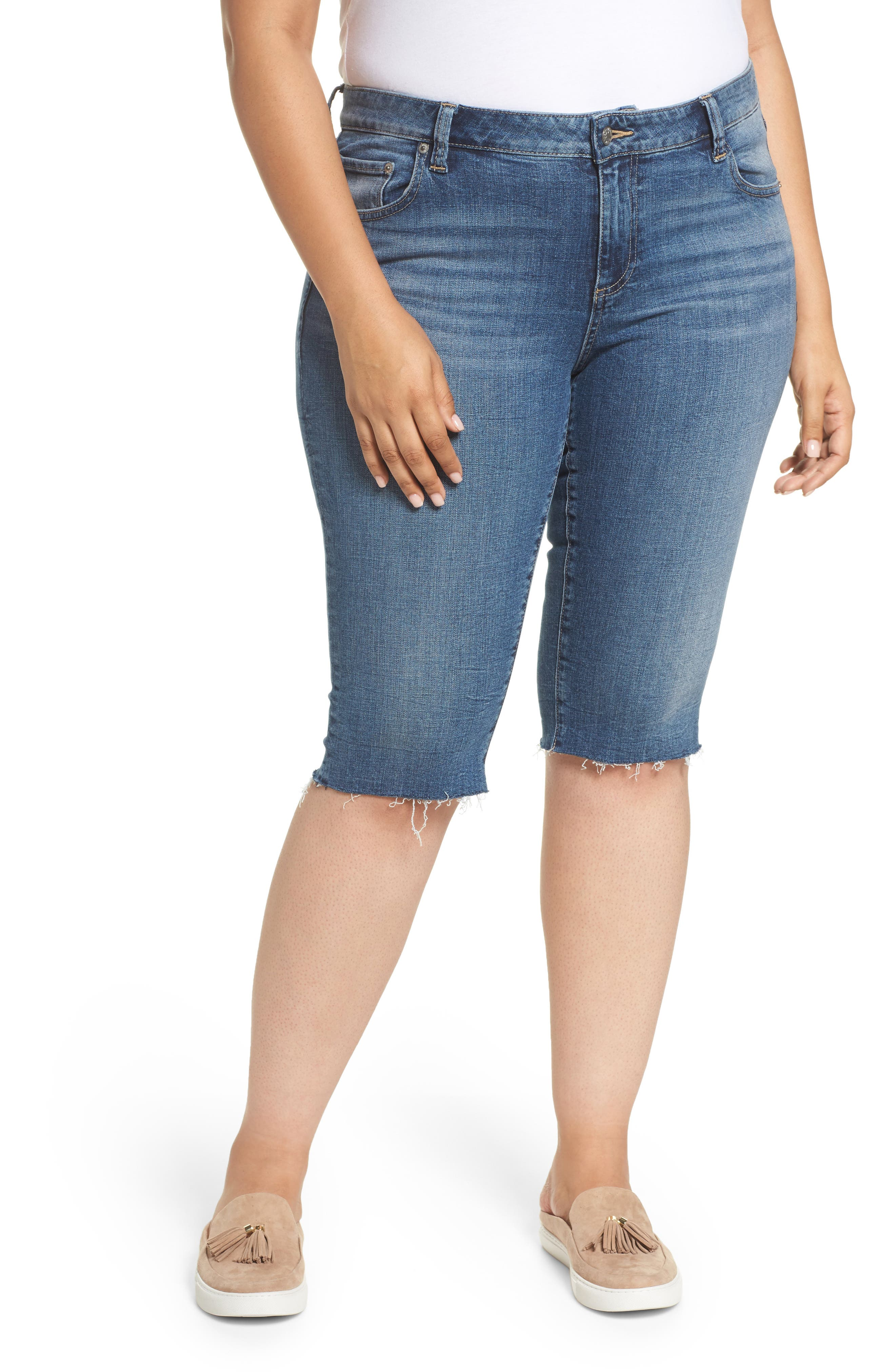 Ginger Bermuda Shorts,                         Main,                         color, Sunbeam-P