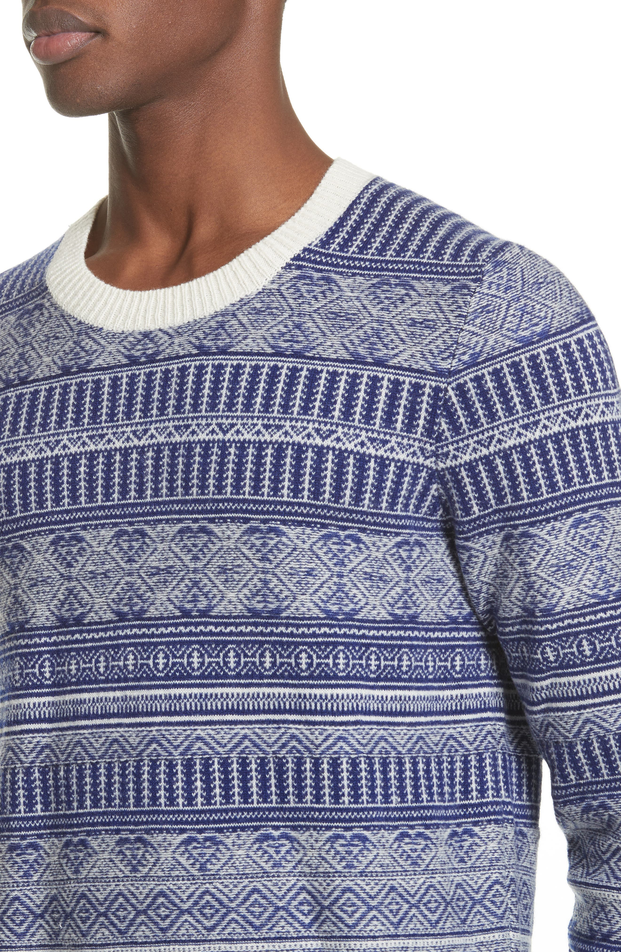Alternate Image 4  - Burberry Tredway Wool & Cashmere Sweater