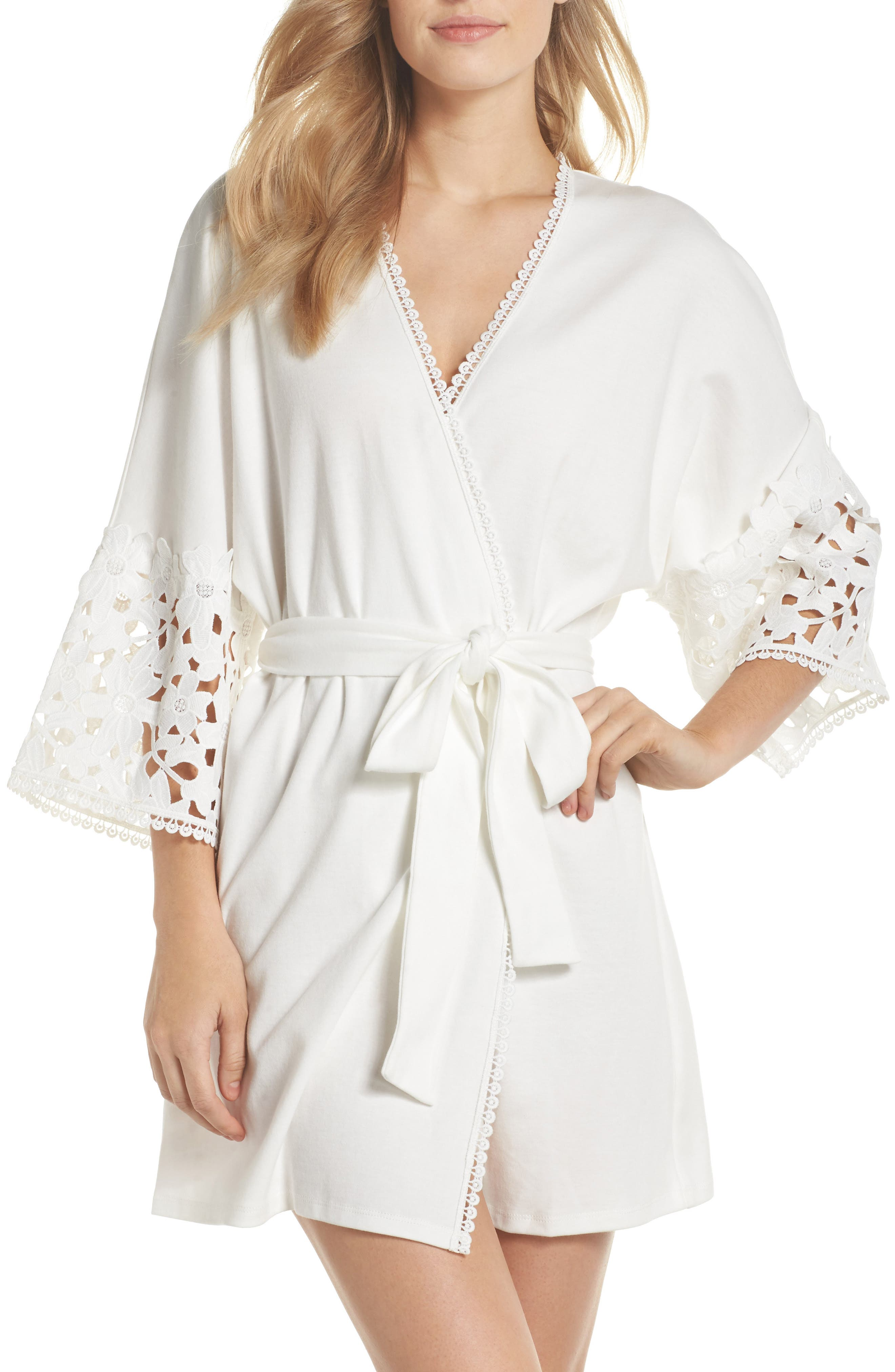 Kendall Robe,                         Main,                         color, Ivory