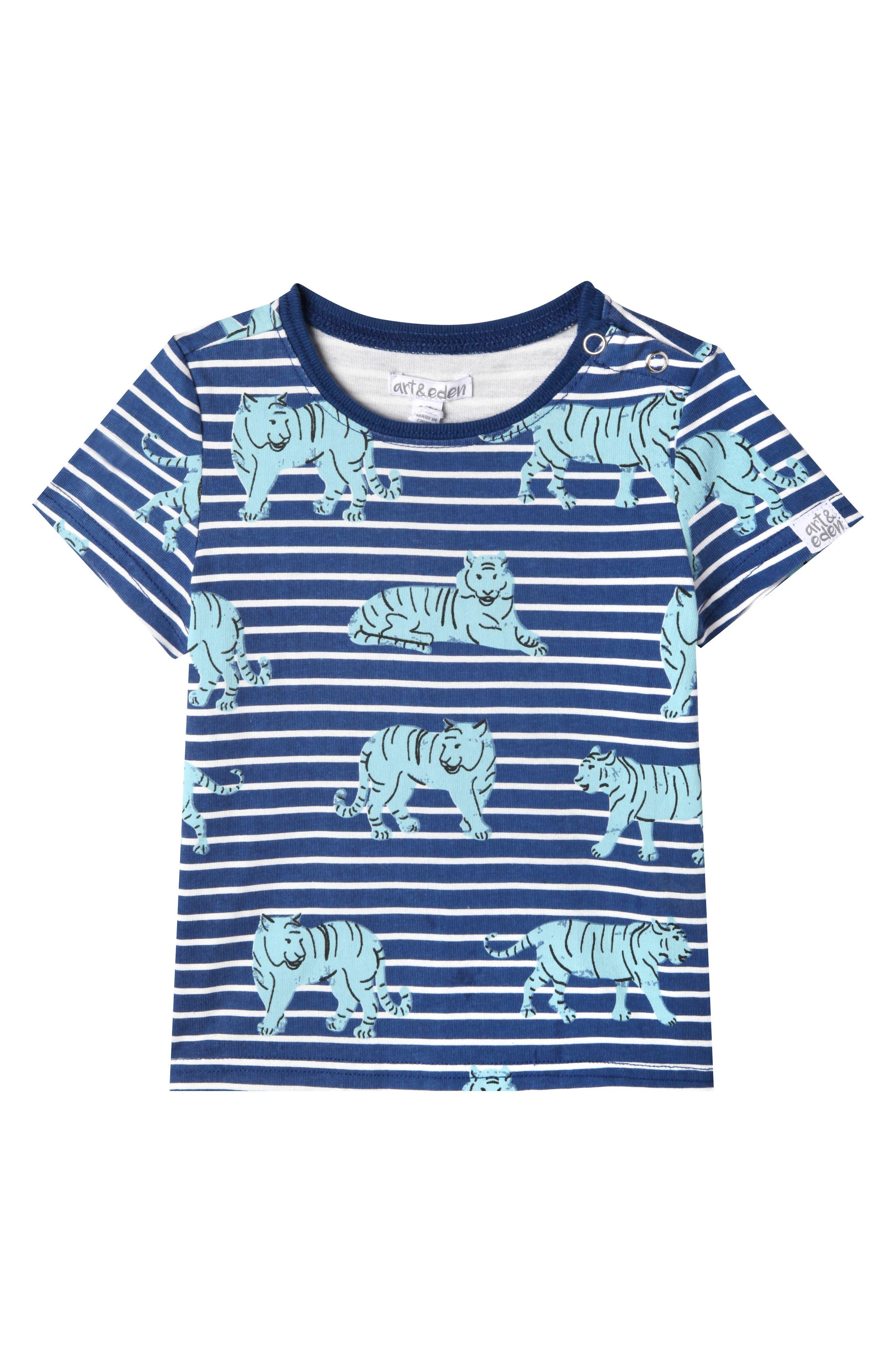 Jayden T-Shirt,                         Main,                         color, Ocean Blue