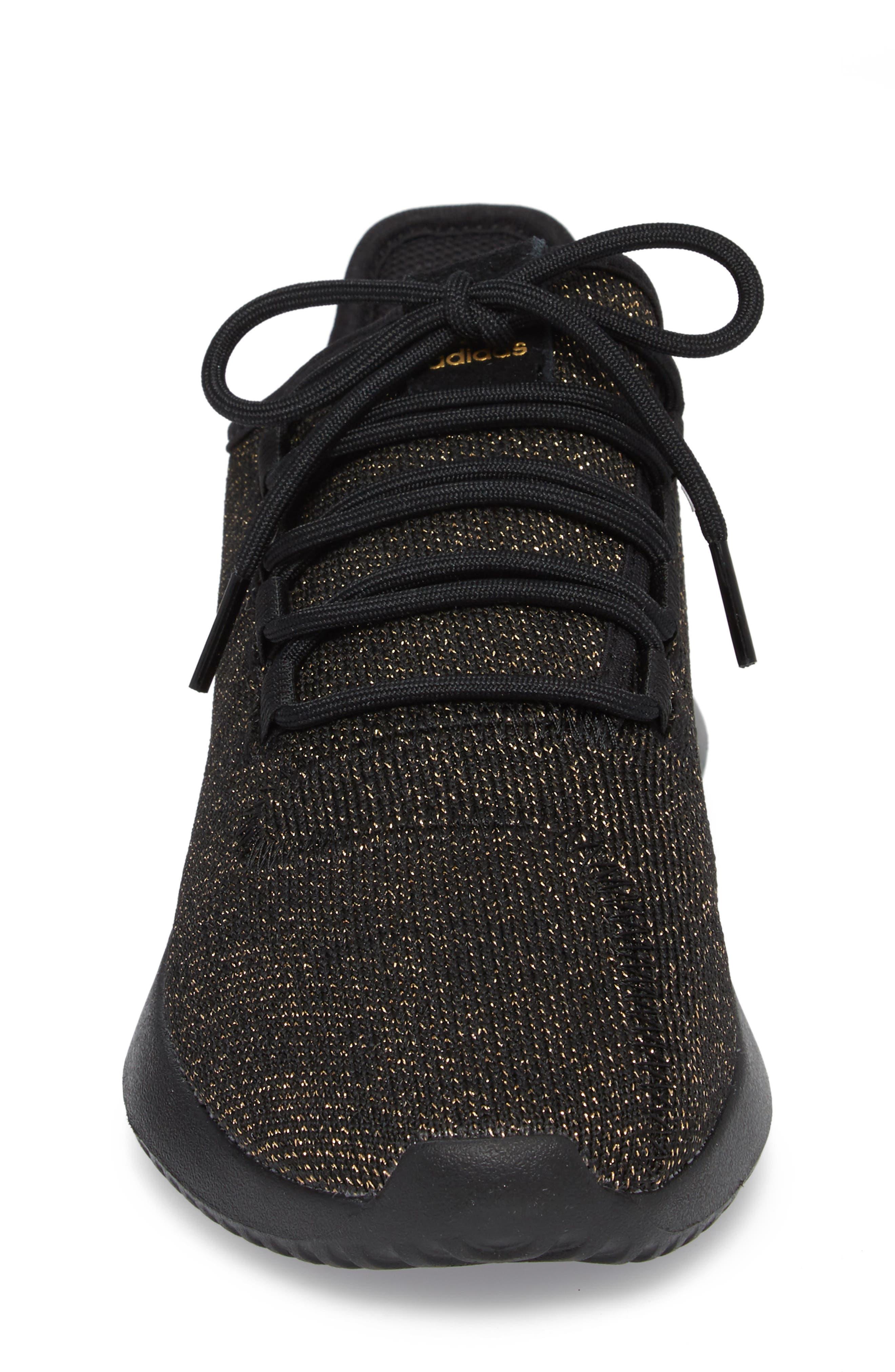 Tubular Shadow Sneaker,                             Alternate thumbnail 4, color,                             Core Black