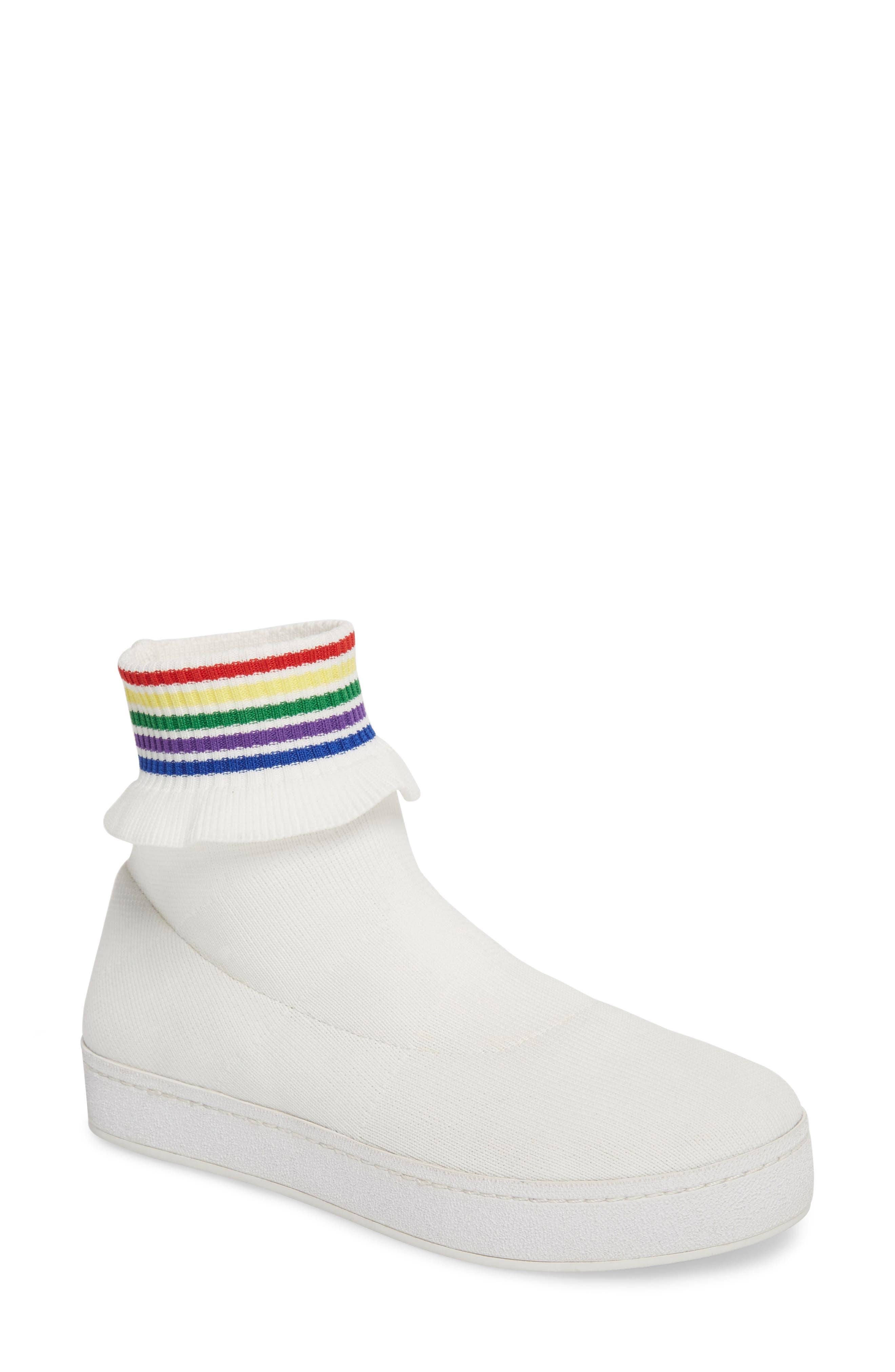 Alternate Image 1 Selected - Opening Ceremony Bobby Sock Knit Sneaker (Women)
