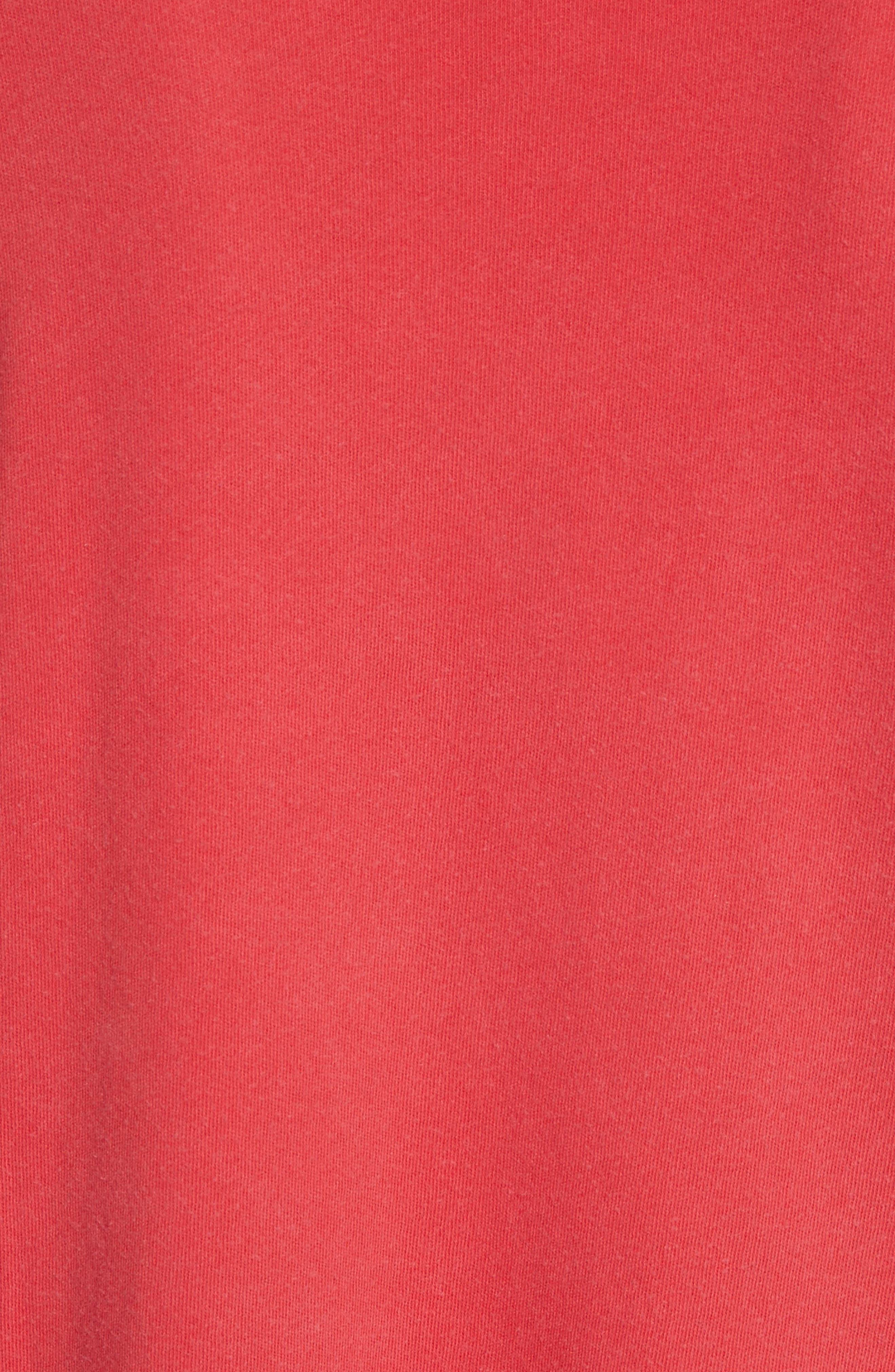 The Bubble Sleeve Dress,                             Alternate thumbnail 5, color,                             Cherry Red