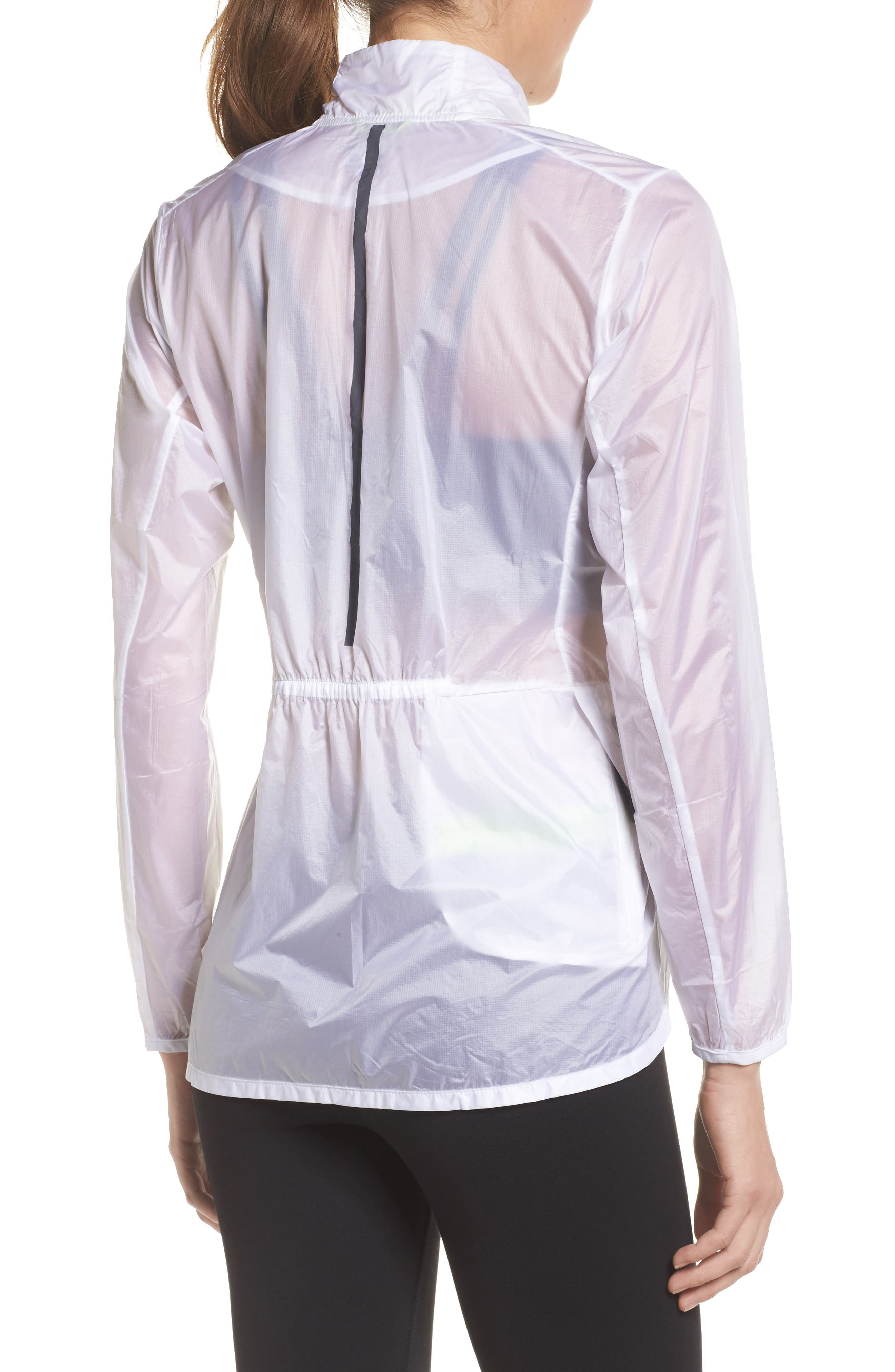 Water Resistant Ripstop Jacket,                             Alternate thumbnail 2, color,                             White