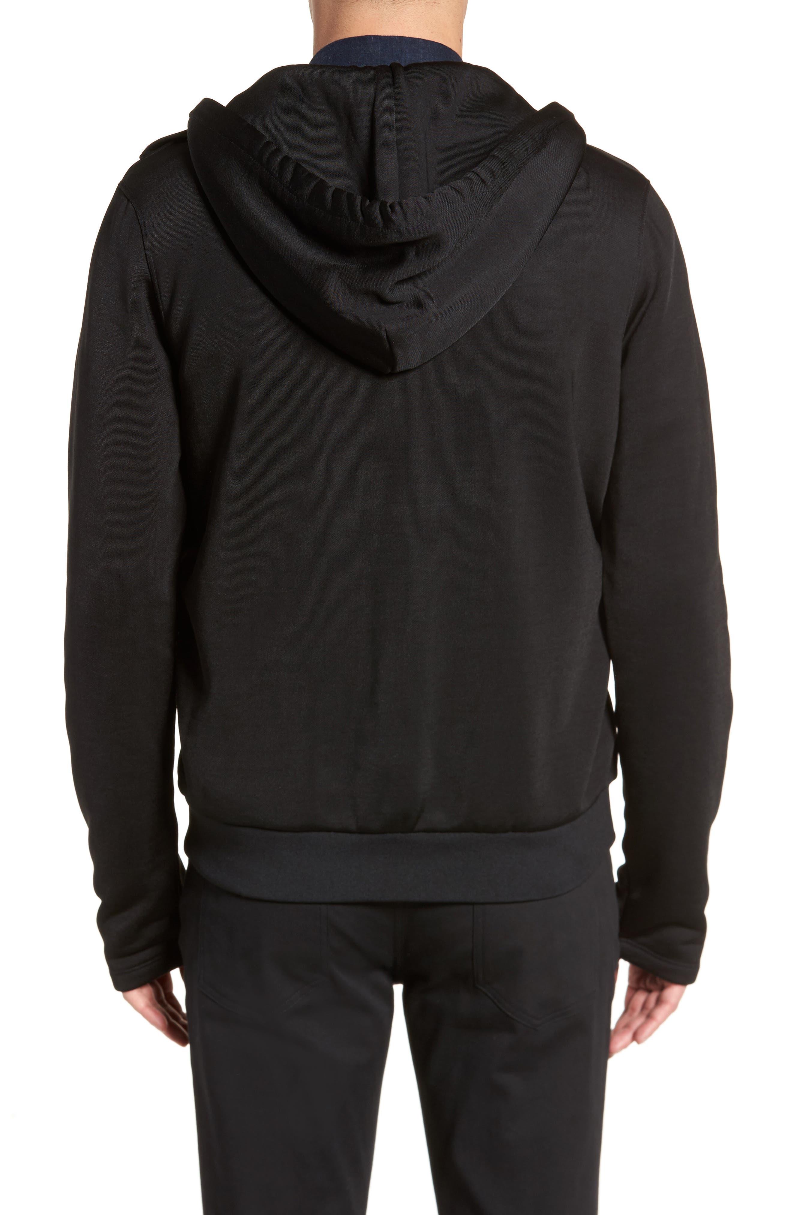 Alternate Image 2  - Vince Regular Fit Zip Hoodie